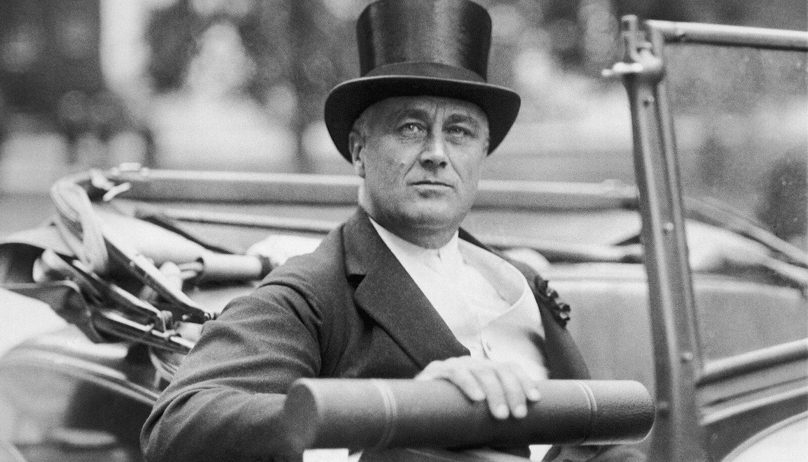 EESTI JUURTEGA: USA president aastatel 1933–1945 Franklin Delano Roosevelt.