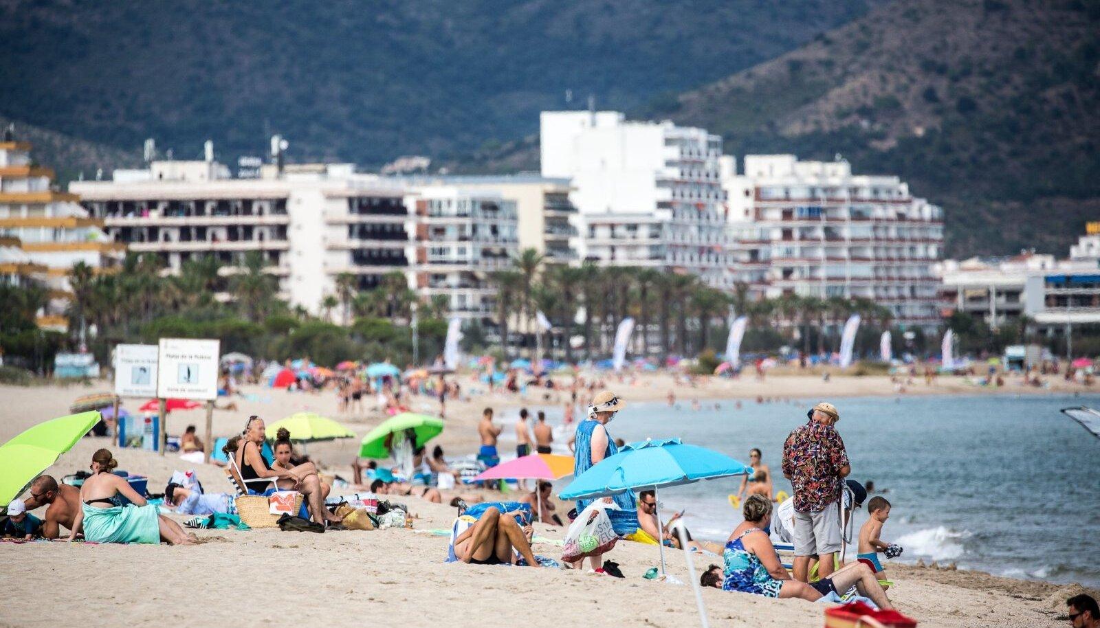 Costa Brava Hispaanias 2020. aasta augustis