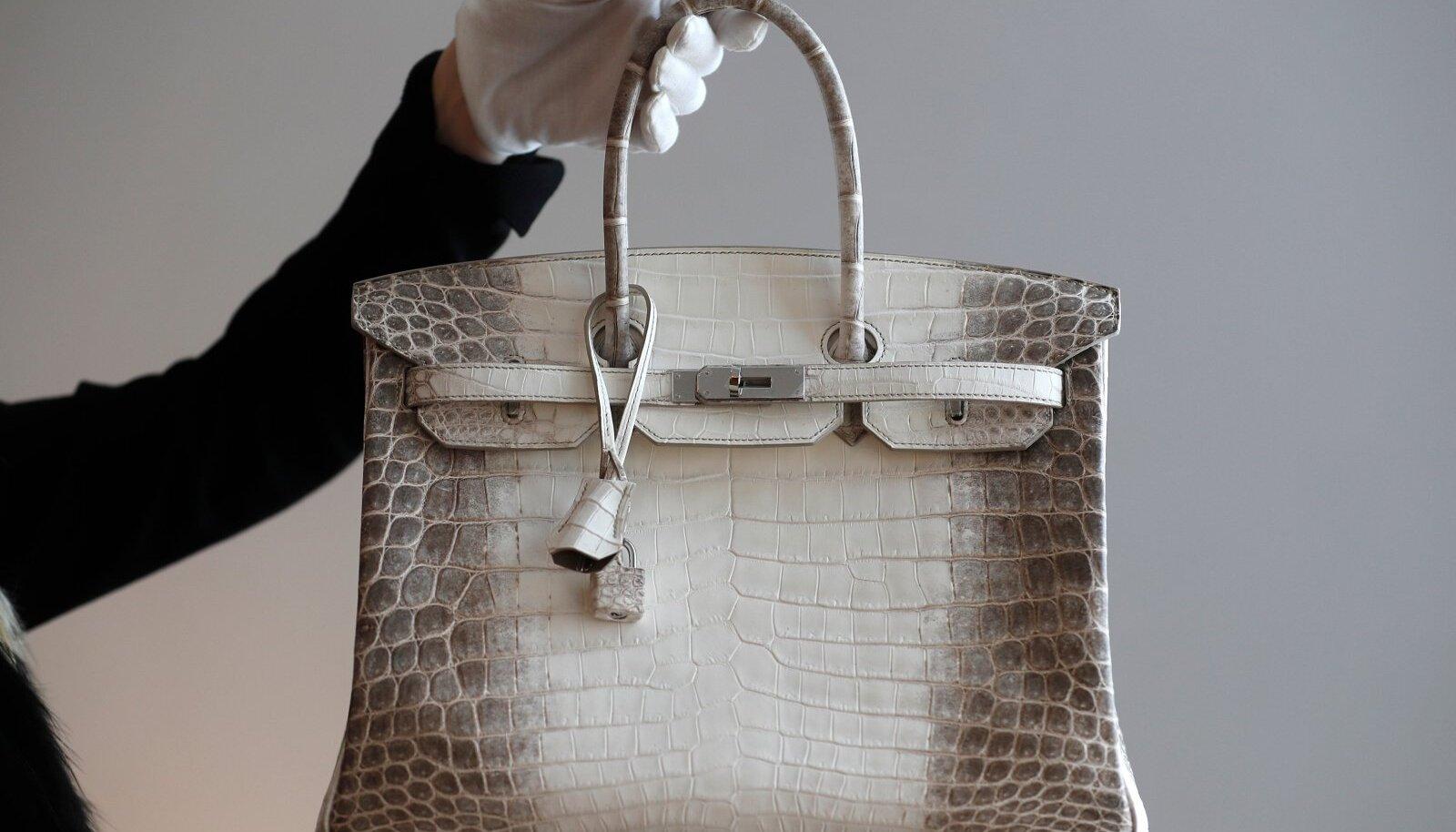 Hermès Himalaya Birkin on üks maailma harukordsemaid käekotte.