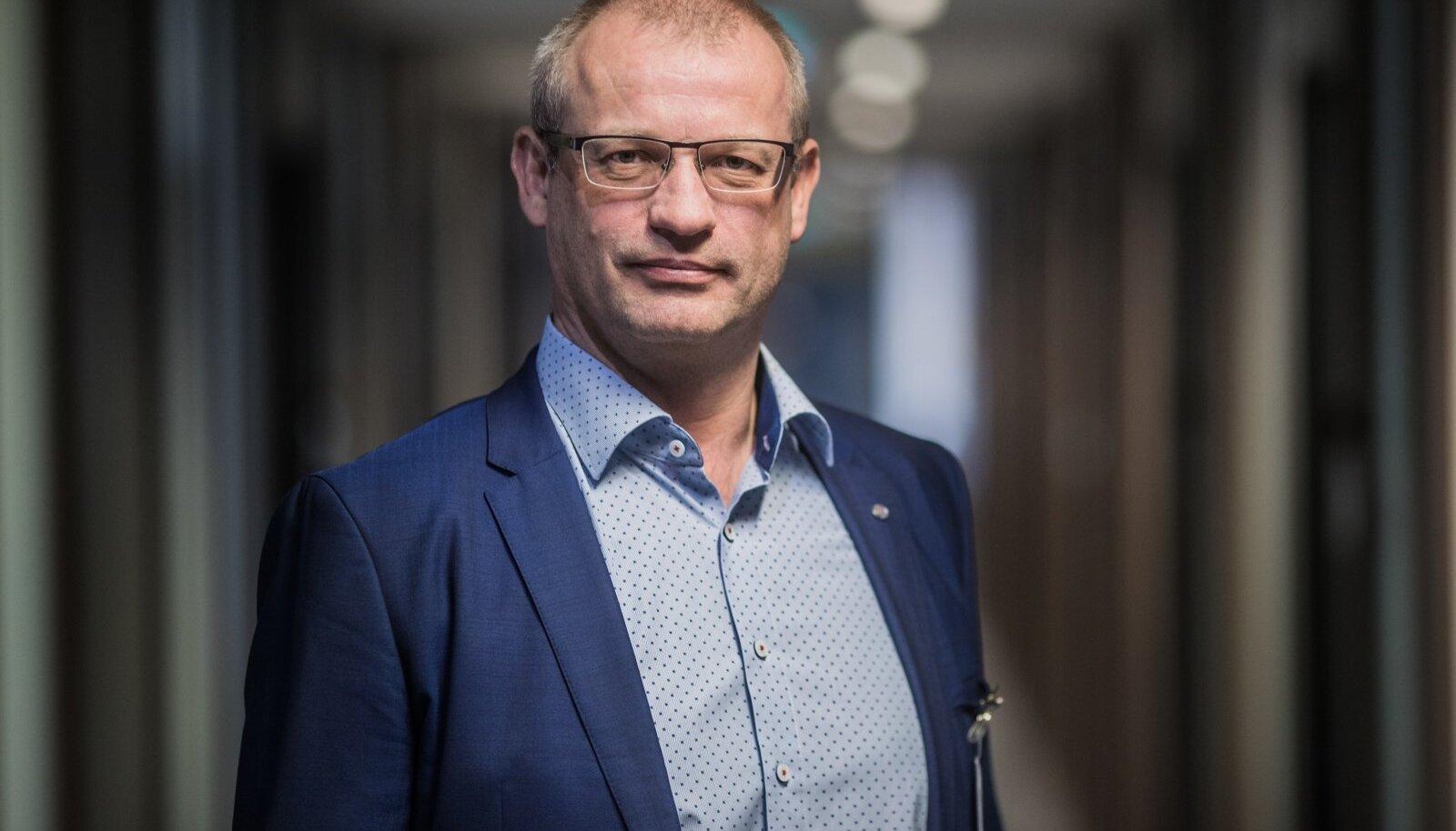 Tartu Ülikooli Kliinikumi juhatuse esimees Priit Eelmäe
