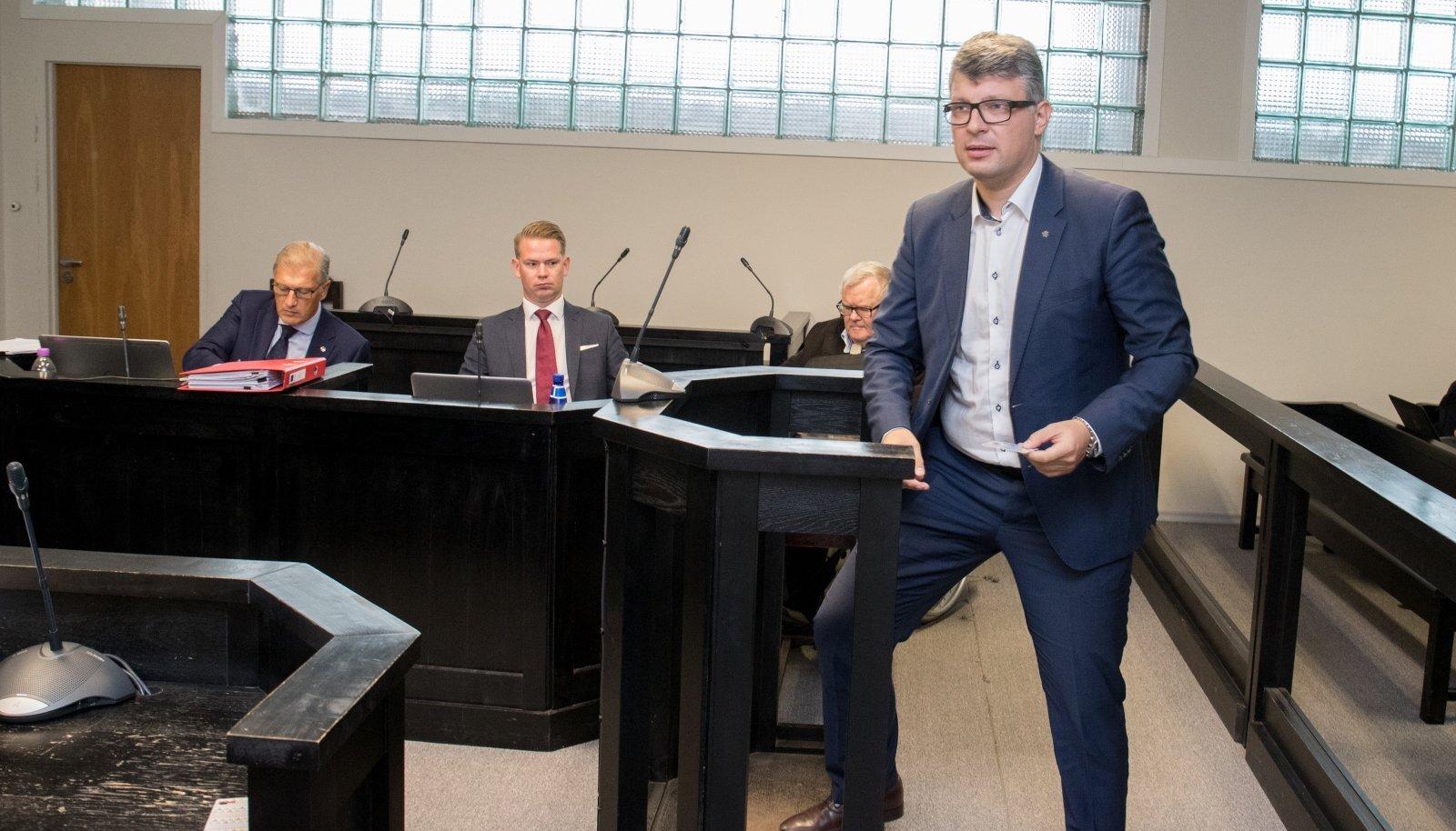 Mihhail Korb oli Savisaare protsessil üks tunnistajatest