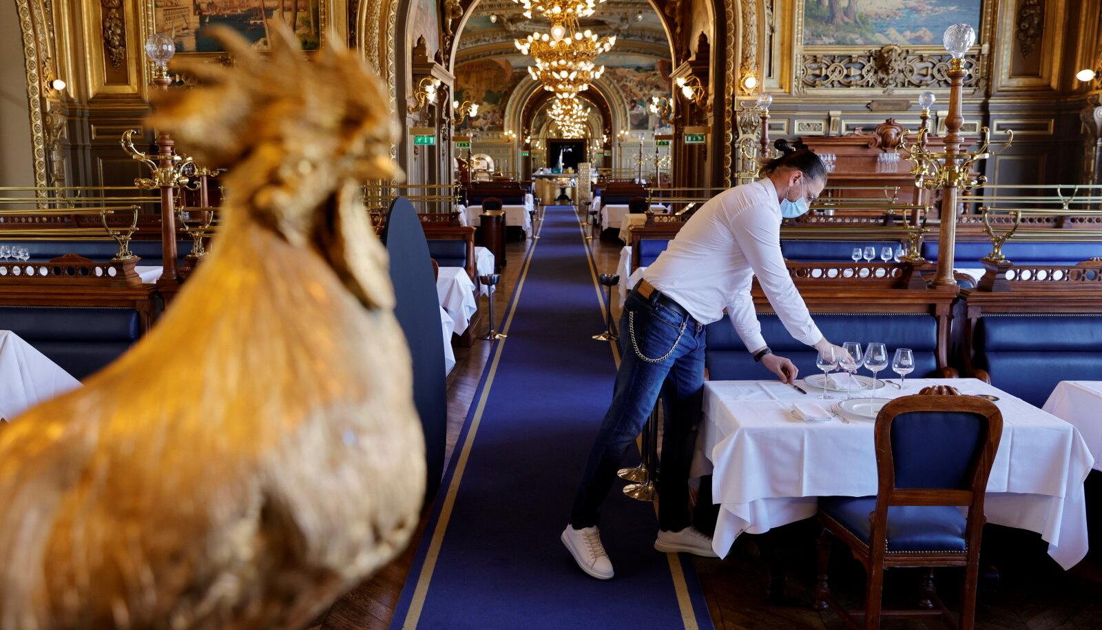 Pariisi restoran.