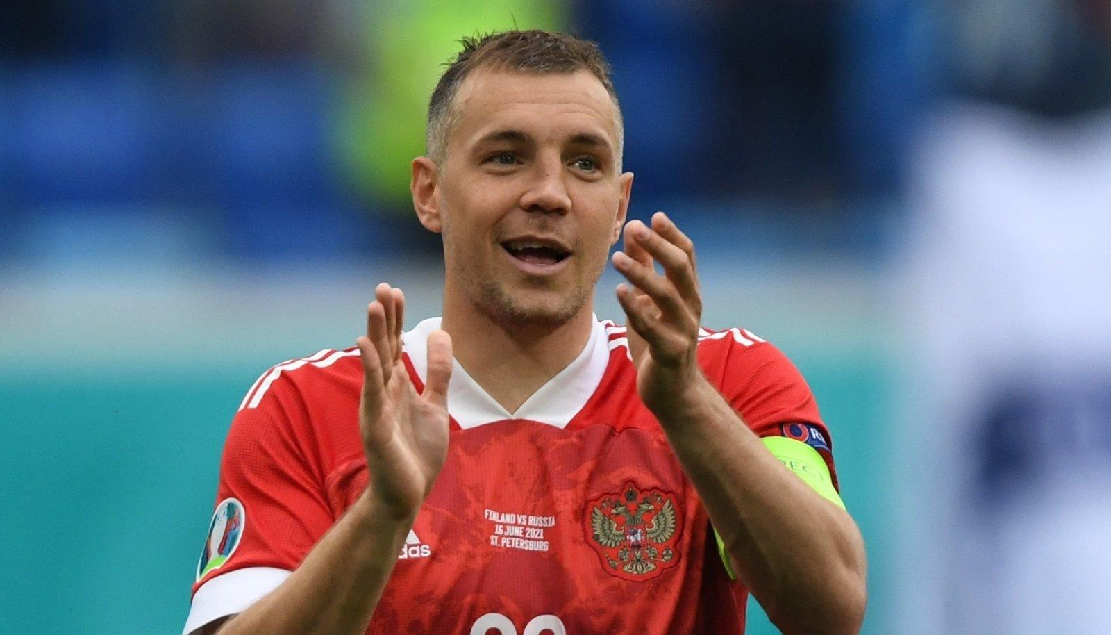 Artjom Dzjuba kandis suvel veel kaptenipaela, kuid nüüd teda koondises enam pole.