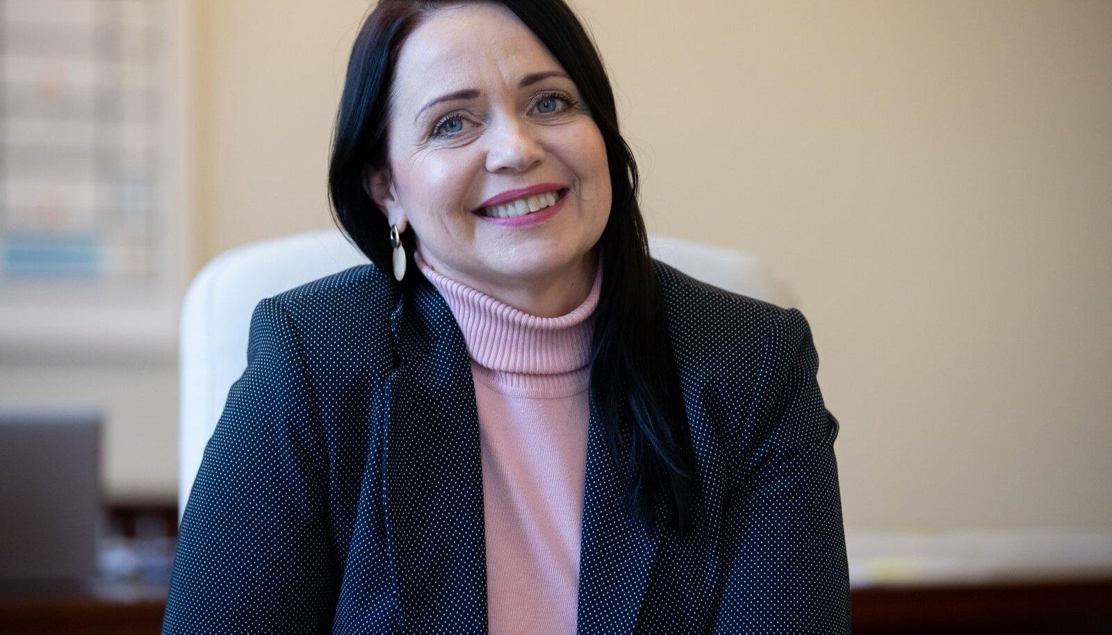 Kultuuriminister Anneli Ott