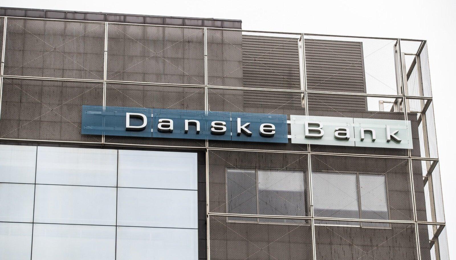 Danske Bank logo ja maja