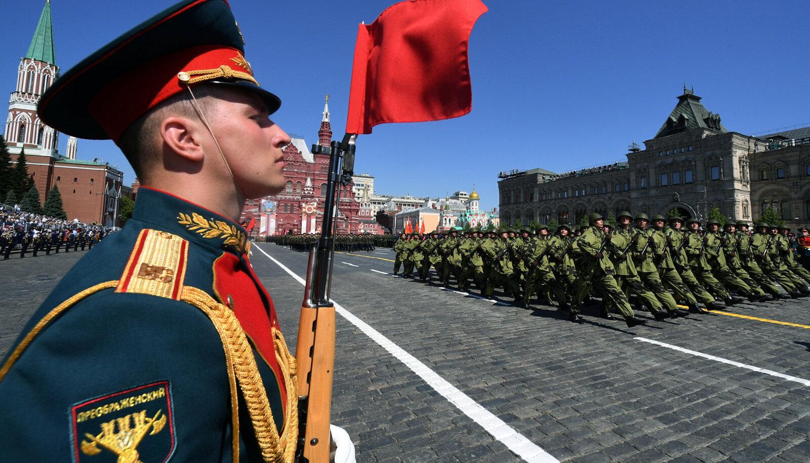 Nn Putini võiduparaad 24. juunil 2020 Moskvas