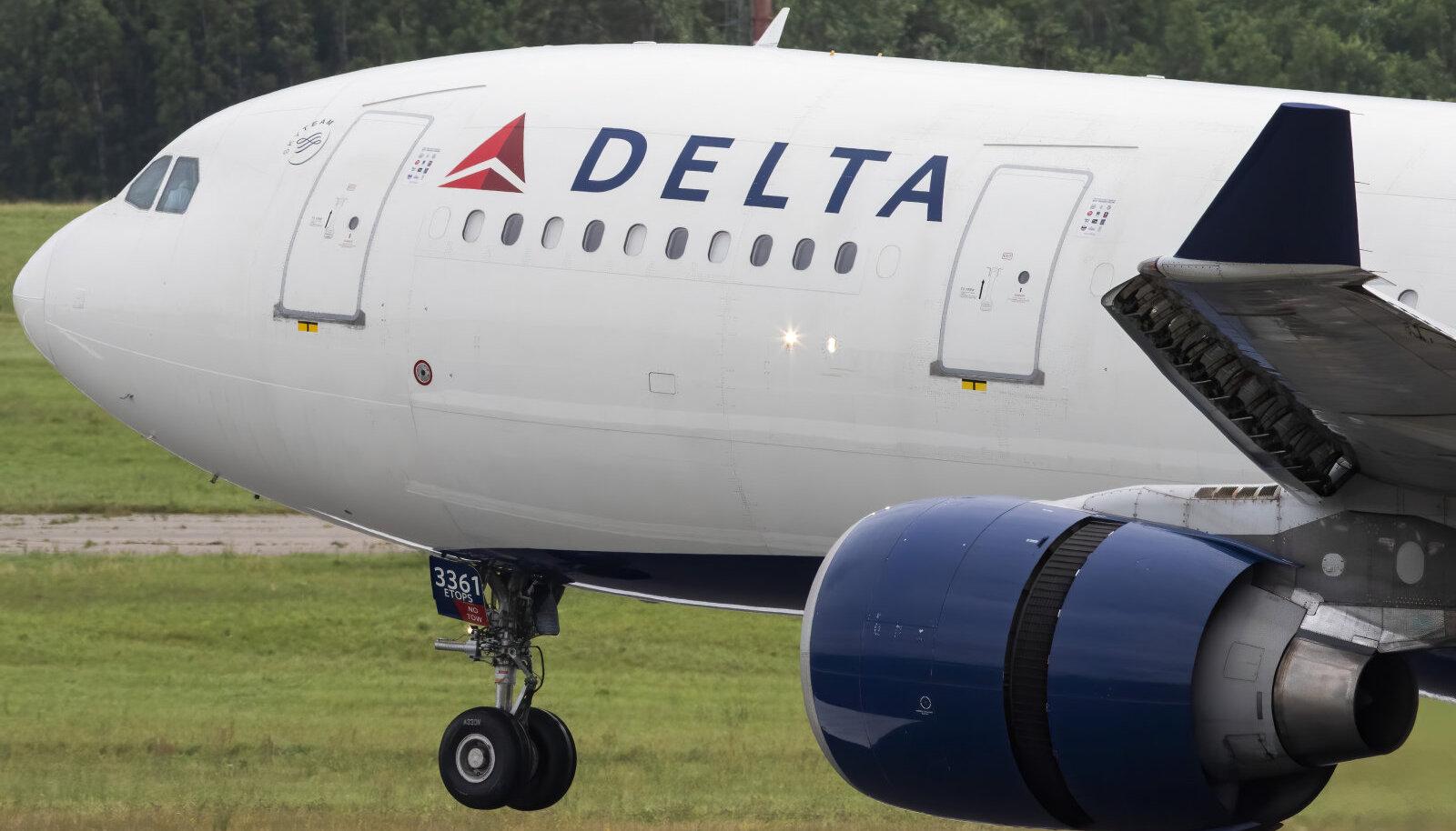 USA lennufirma Delta Airbus 330.