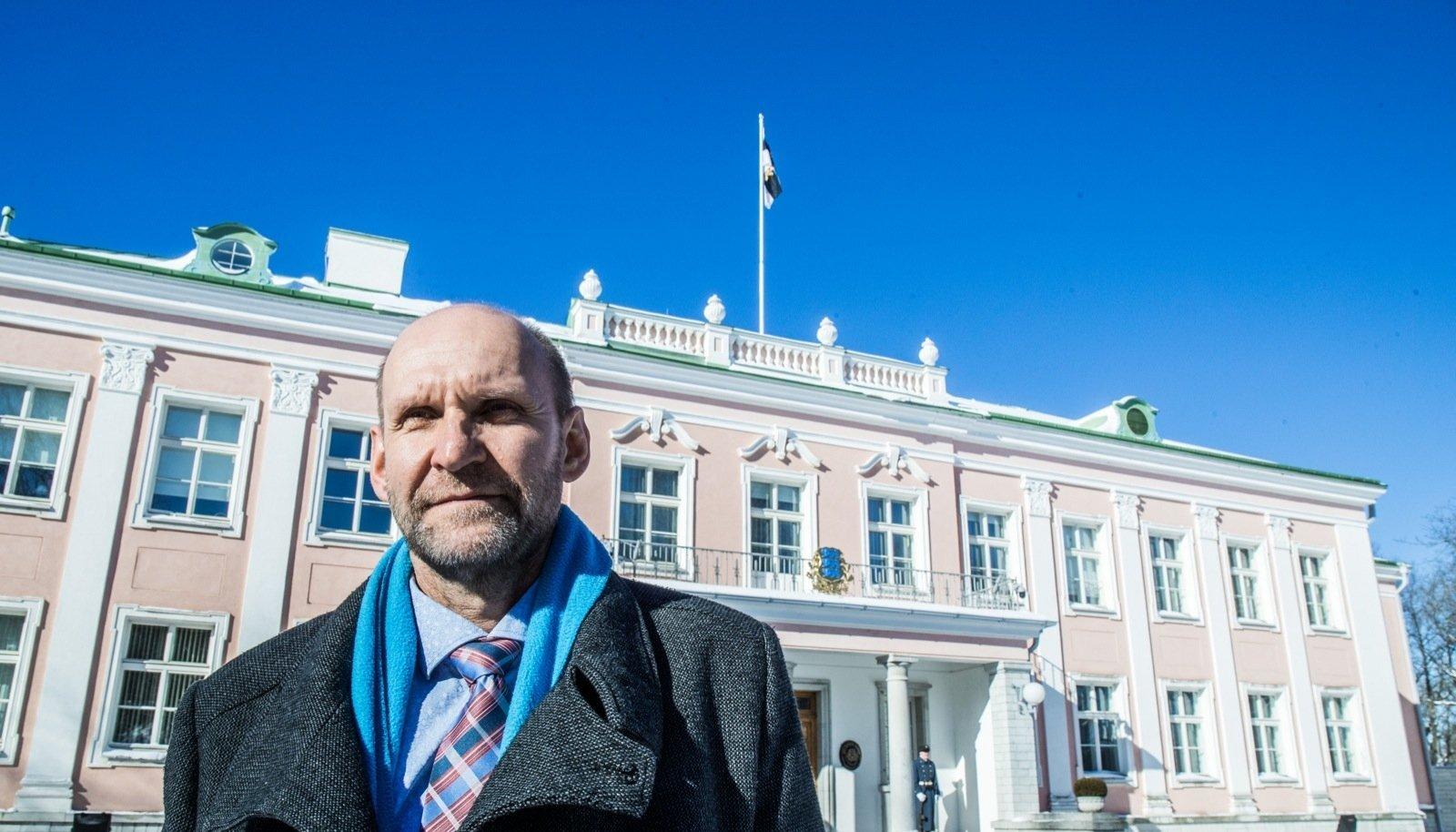 Erakondade esimehed käisid eile presidendi juures. Kadriorgu on jõudnud Isamaa esimees Helir-Valdor Seeder.