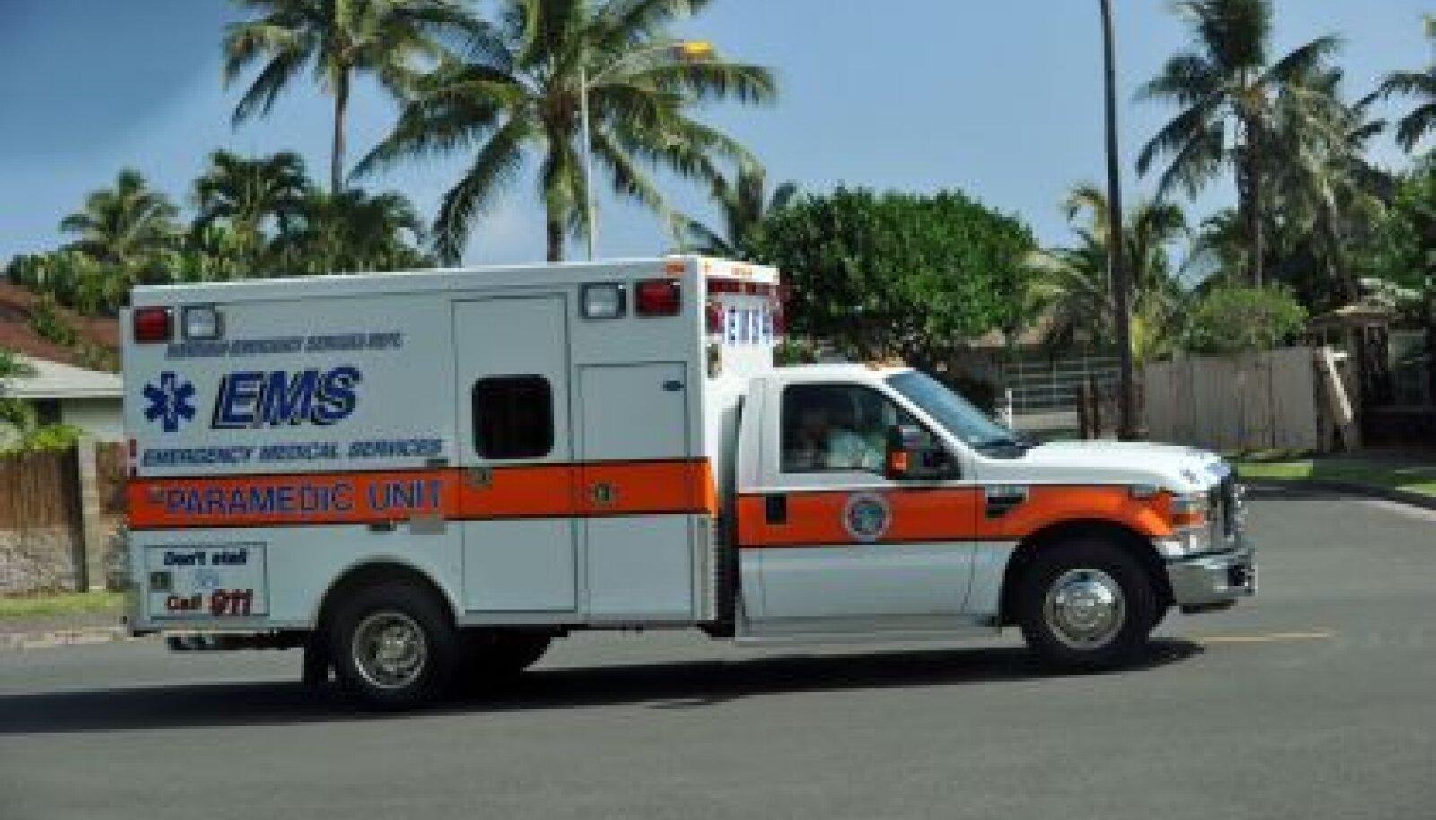 kiirabi Obama juures