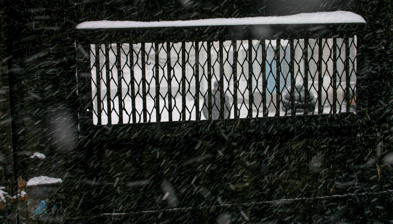 Ворота 124-й исправительной колонии строгого режима