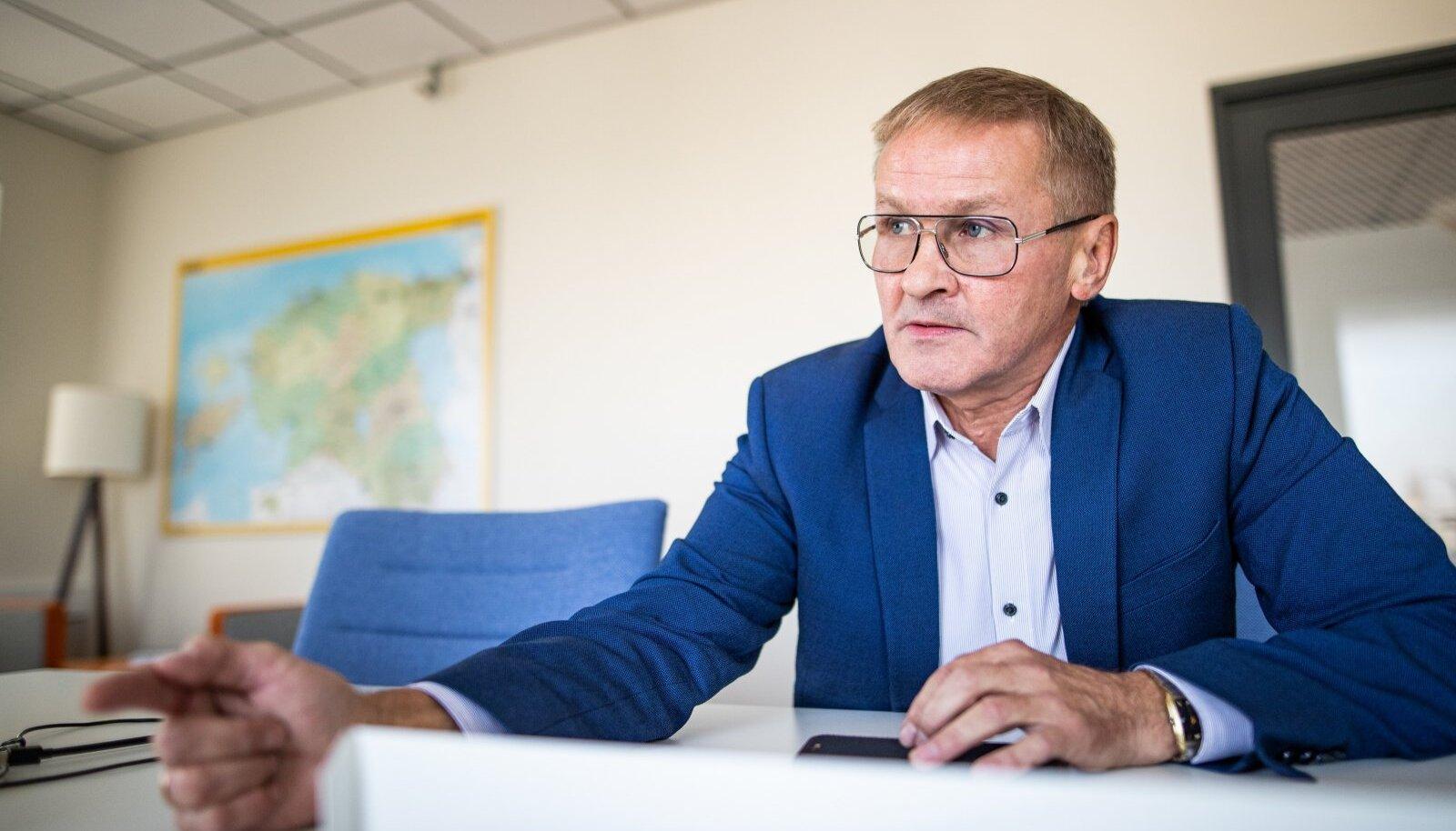 Riigihalduse minister Jaak Aab
