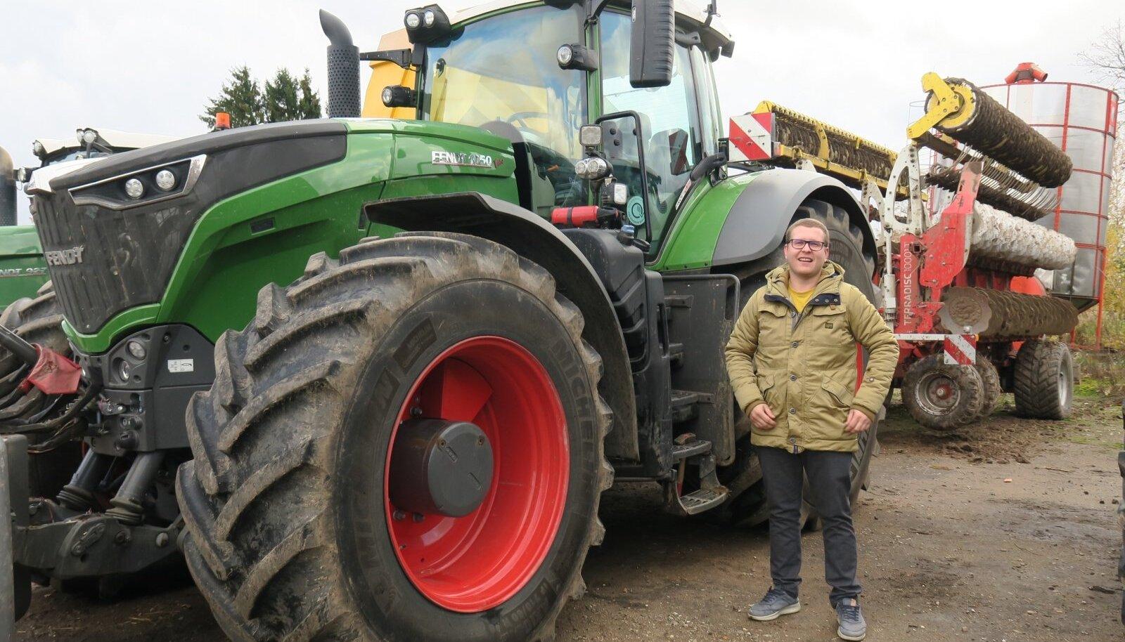 Tänavuse nisuvõitja Sven-Erik Lohu nimel on ka nisu saagirekord 11,9 t/ha eelmisest aastast.