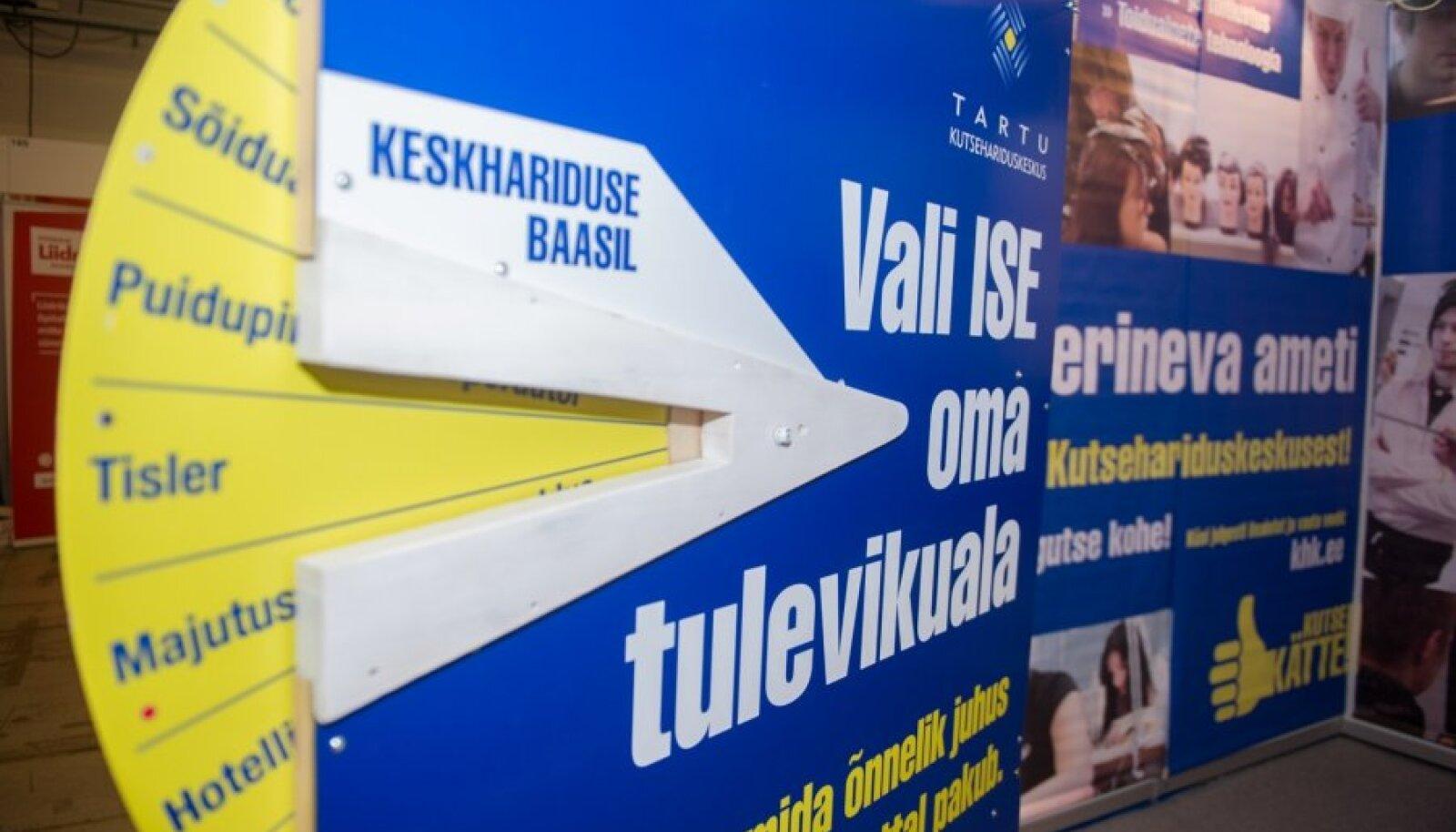 43% haridusmessil Teeviit küsitletud noortest ei olnud teadlikud, kui palju nende erialal reaalselt töökohti Eestis leidub.