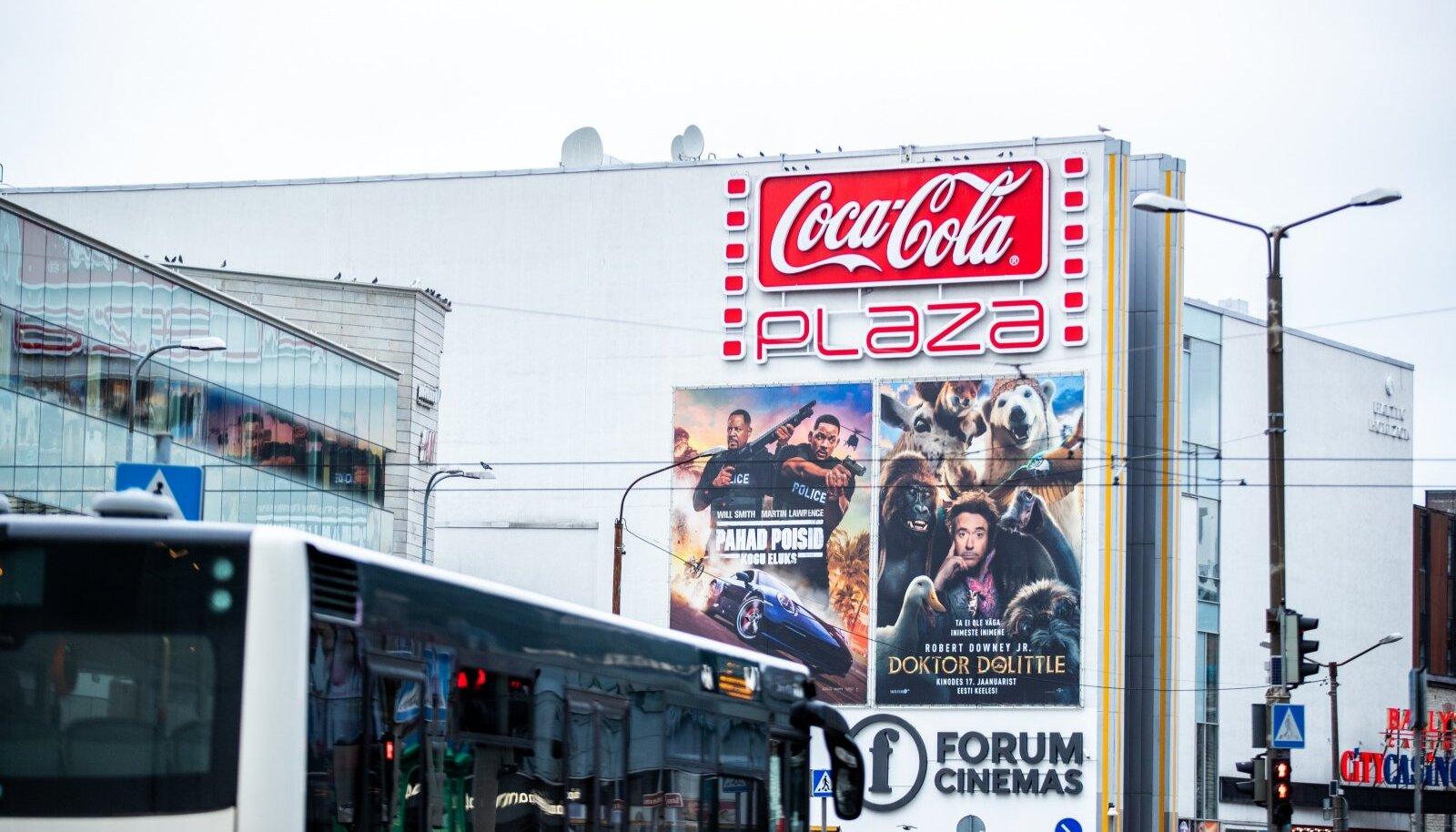 Coca-cola plaza logo ja hoone