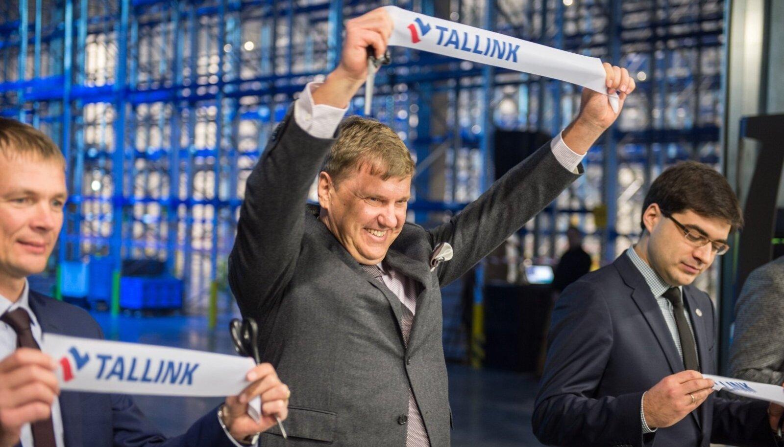 Tallinki Logistikakeskuse avamine