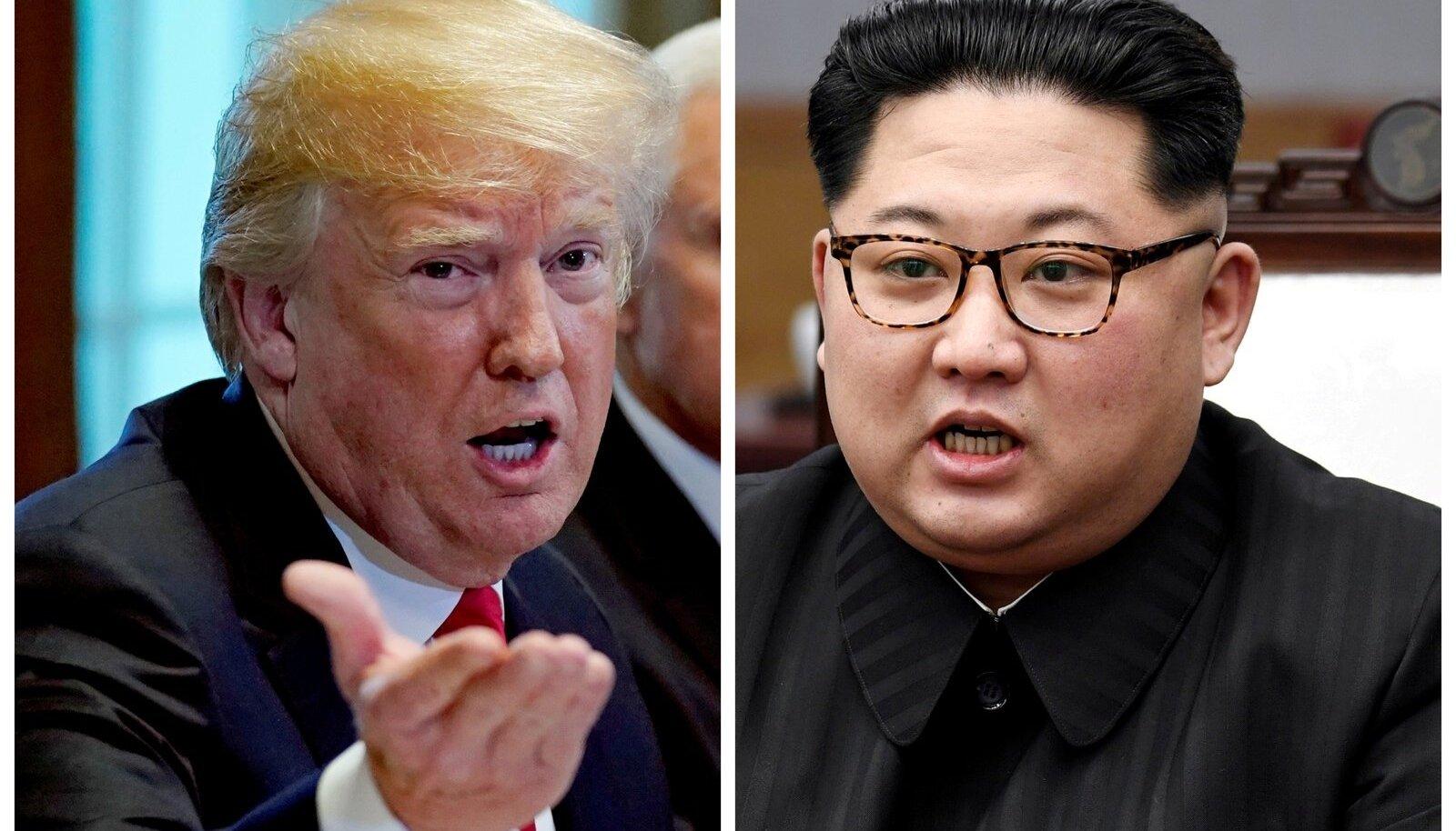 Trump ja Kim