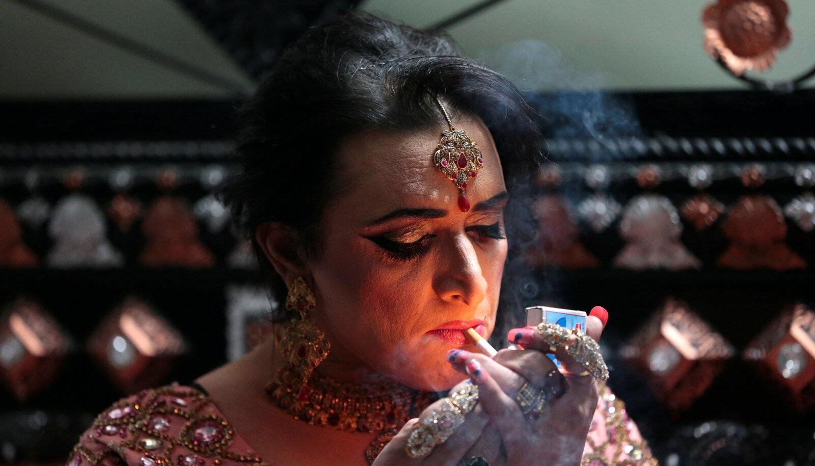 Pakistani transsooliste kogukonna liige.