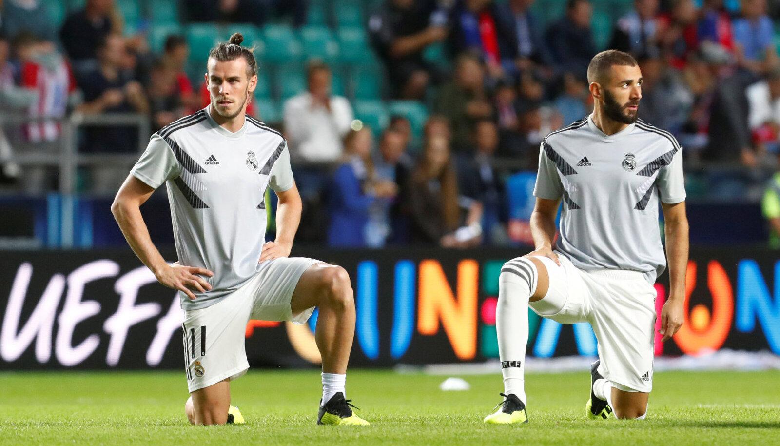 Gareth Bale ja Karim Benzema