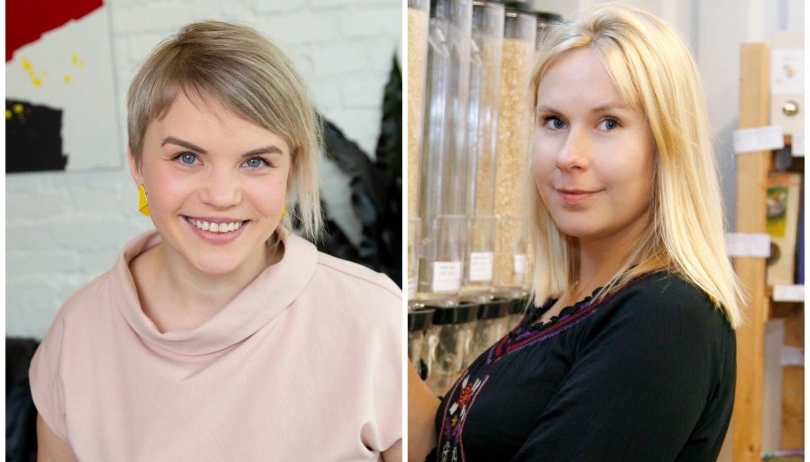 Elin Järvsaar ja Kerttu Jänese.