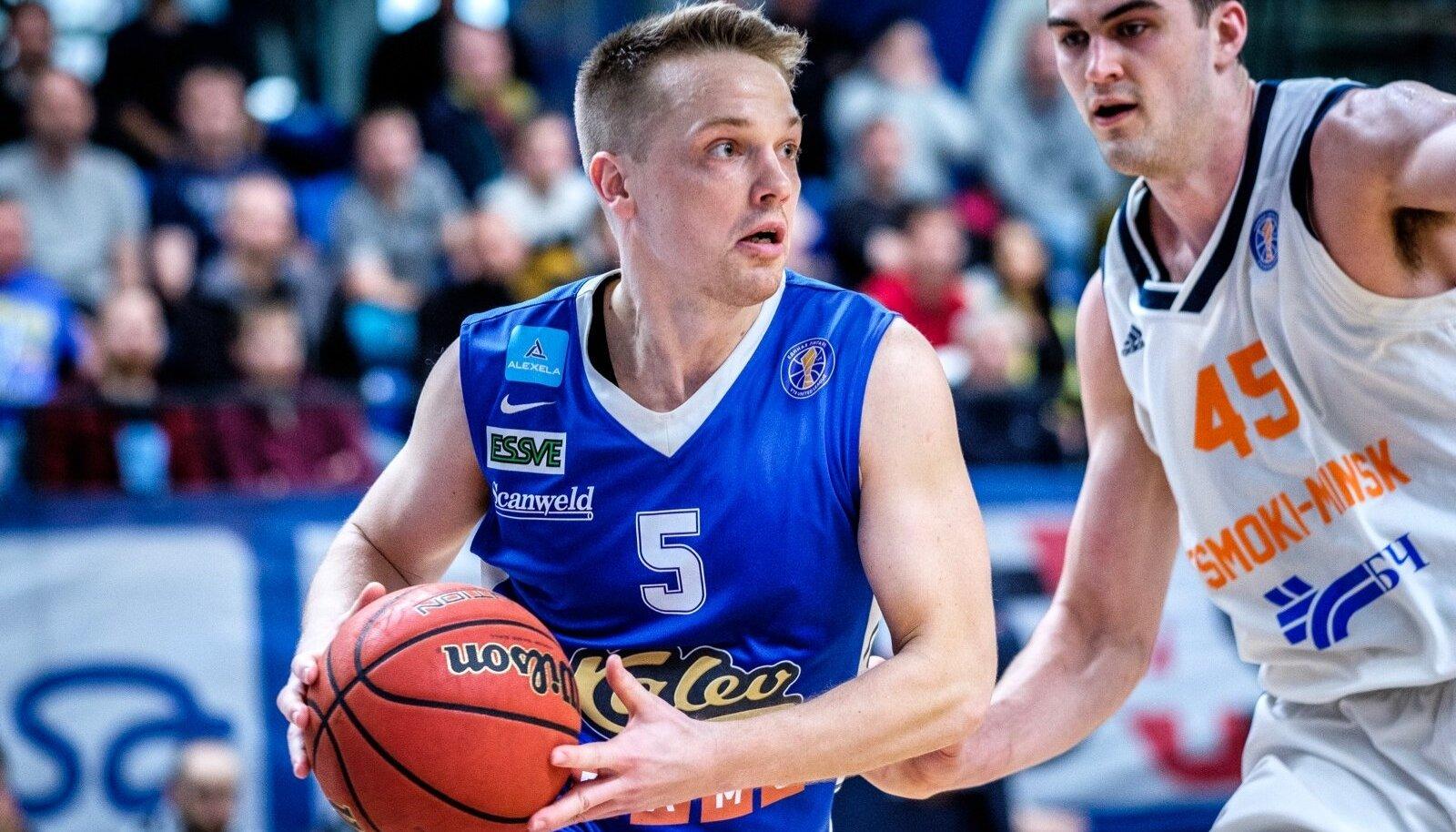 BC Kalev Cramo kaotas Minski Tsmokile VTB Ühisliigas 80:85.