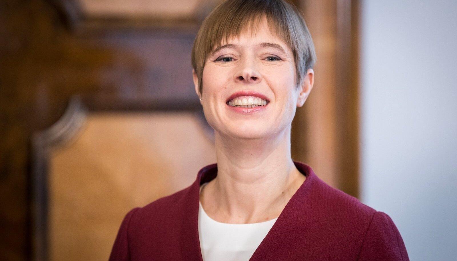 27.01.2018 President Kersti Kaljulaid esitles riigikontrolöri kandidaati Janar Holmi.