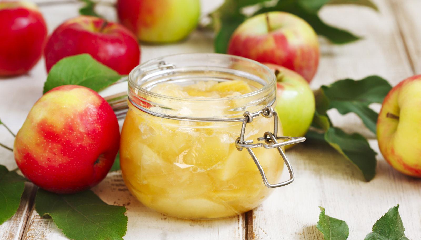 Moosi valmistamiseks sobivad kõik õunad