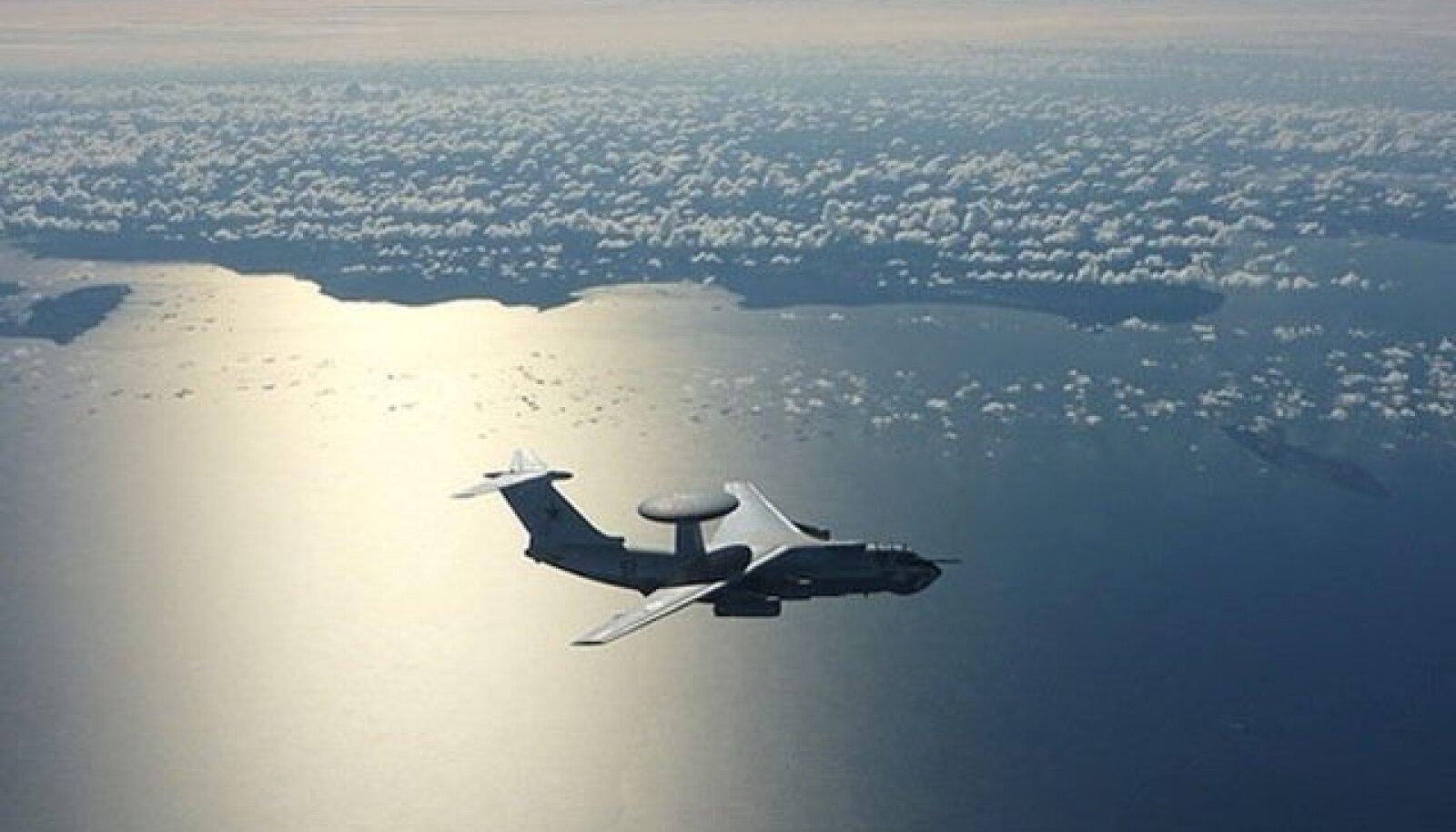 Vene luurelennuk A-50 Eesti ranniku lähedal