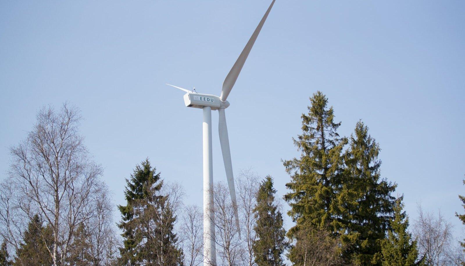 Vabanevale alale rajatavad tuulepargid toodaksid sadu megavatte.