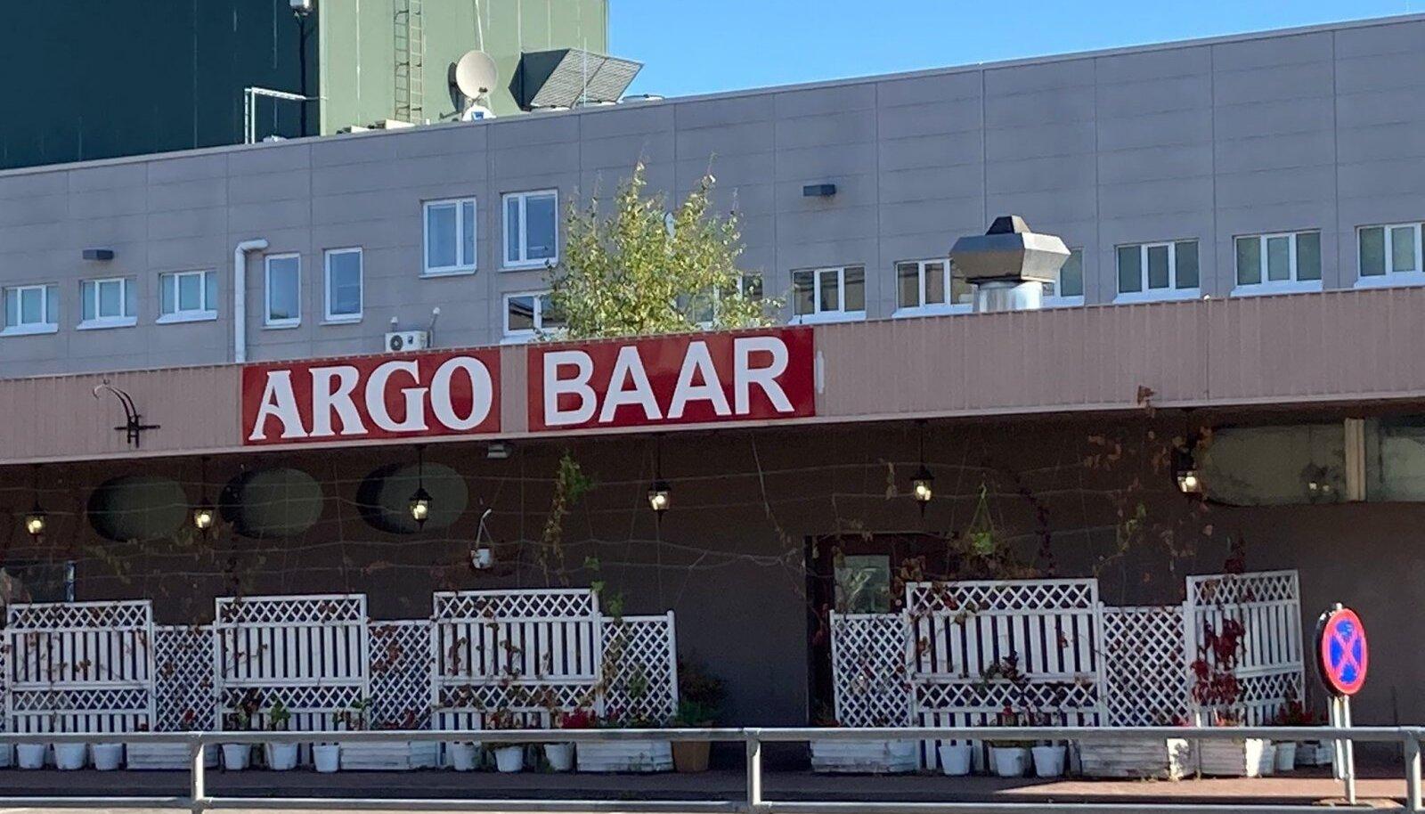 Argo baar asub juba mõnda aega Kristiine keskuse kõrval.