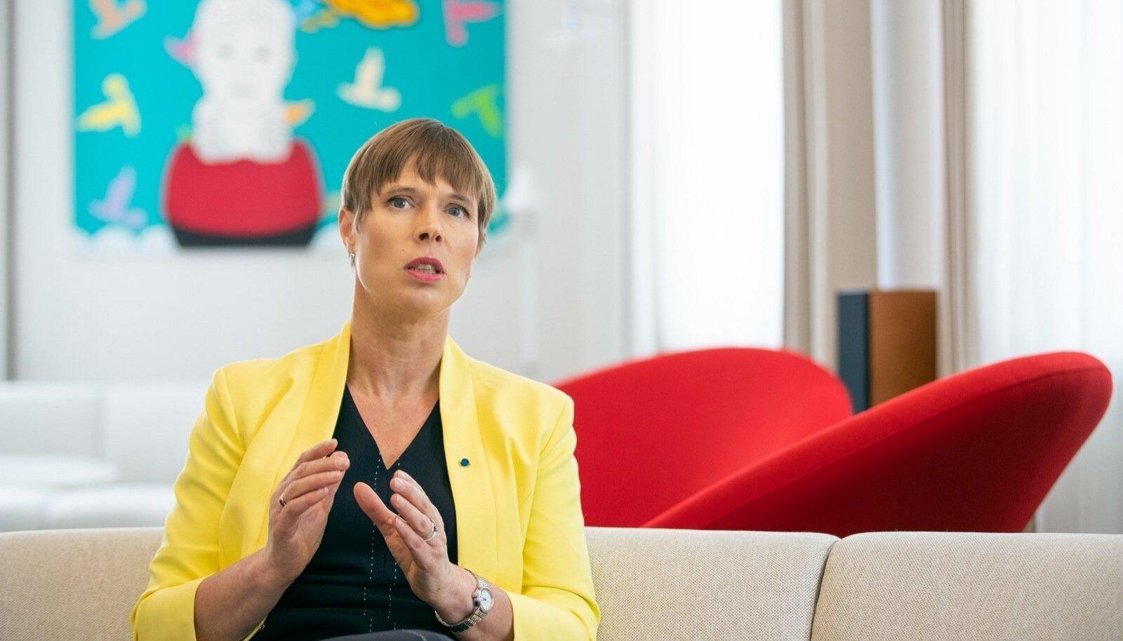 Kersti Kaljulaidi sõnul kuulub osa Eesti eduloost meie partneritele ja liitlastele.