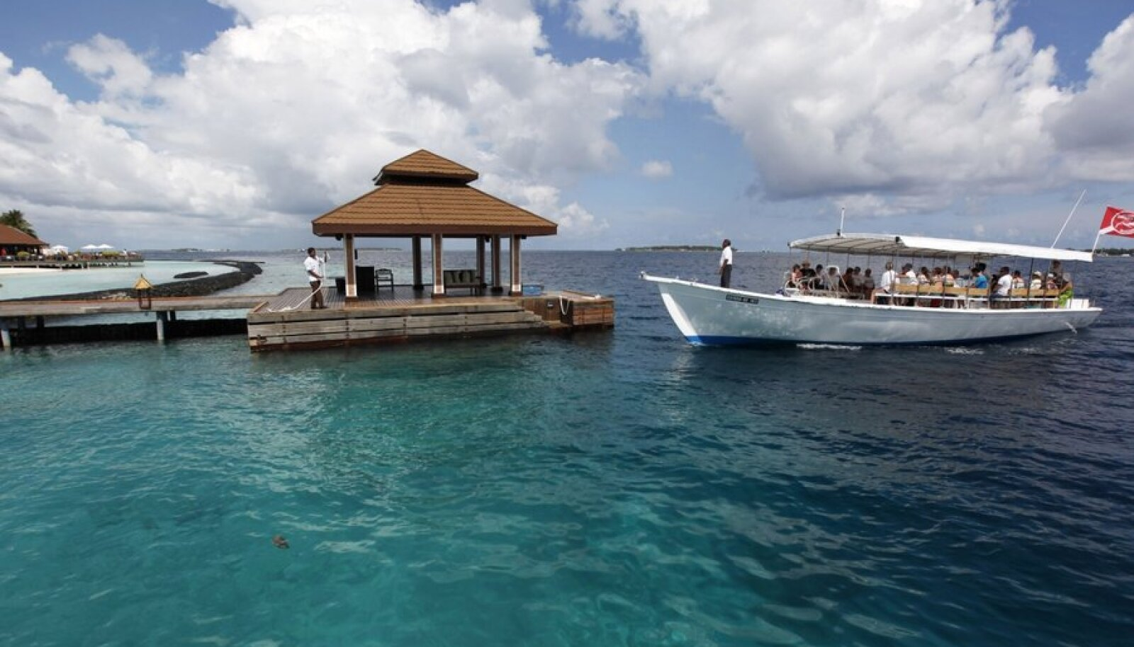 Maldiivid on kimpus maailmamere tõusuga
