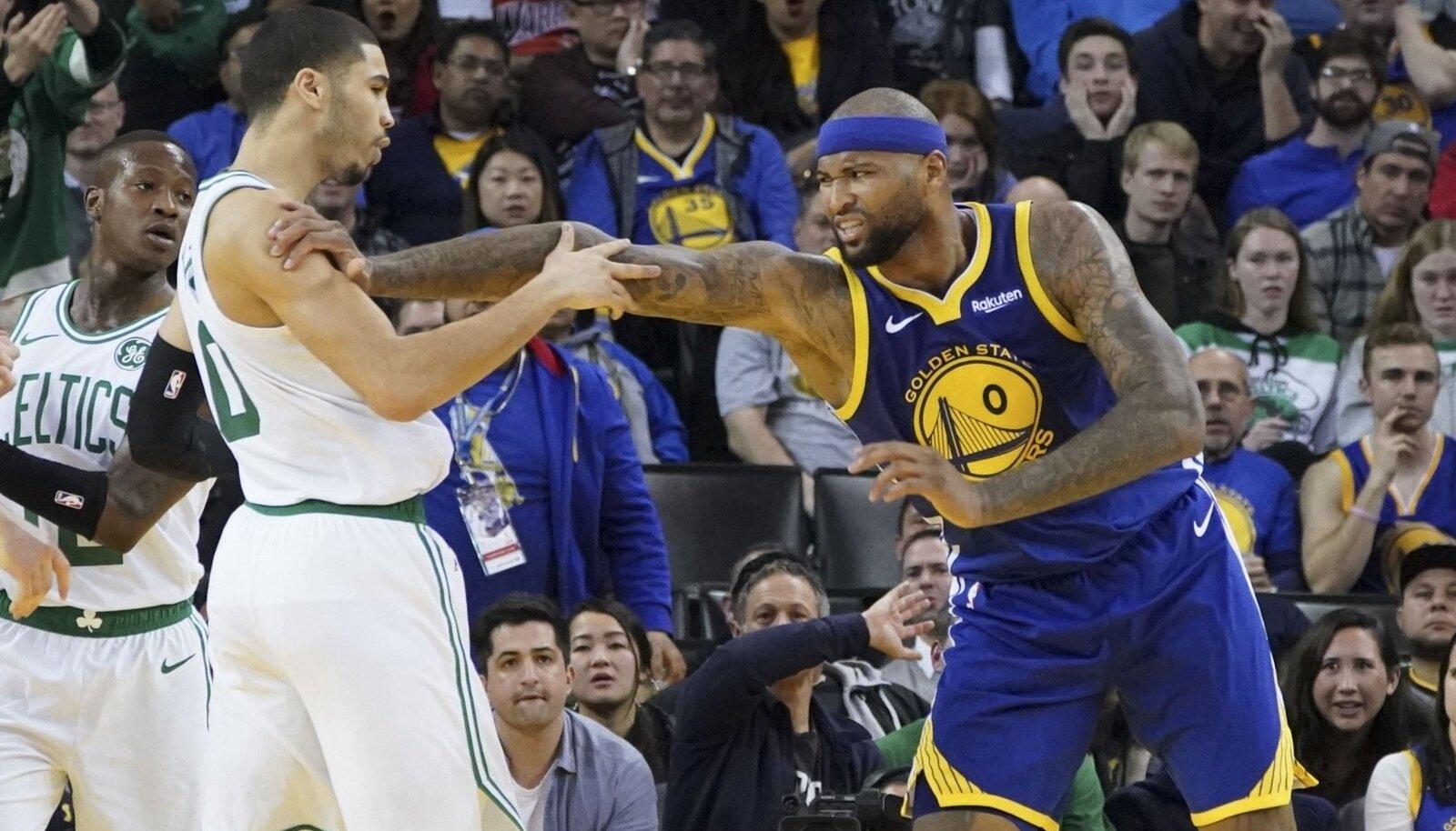 DeMarcus Cousins läks Celticsi mängijatega riidu