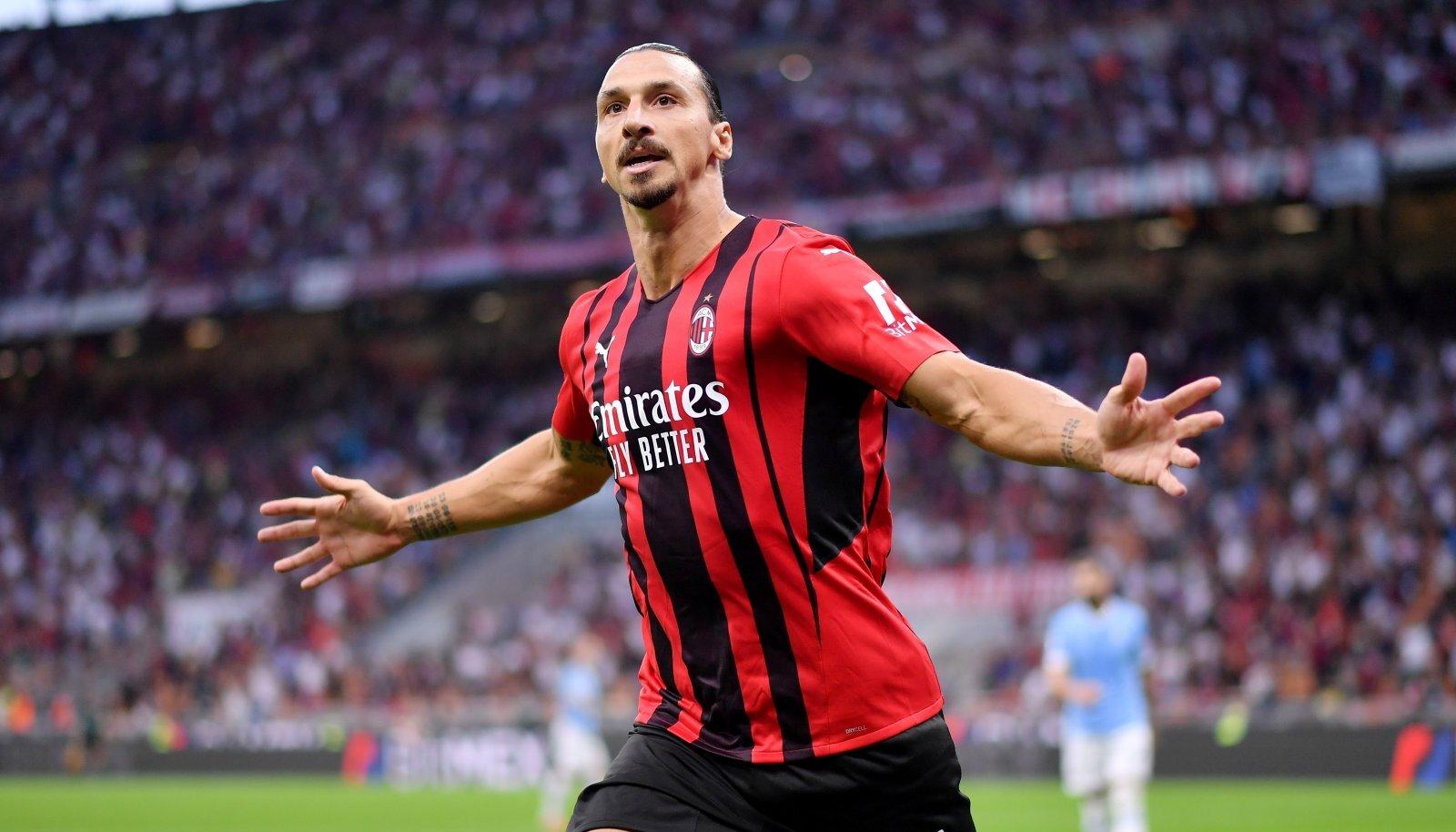 Zlatan Ibrahimovic naasis väravaga.