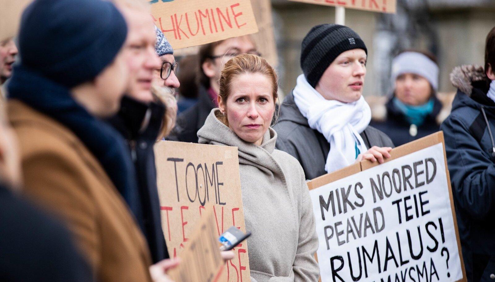Noored kliimastreikijad on avaldanud lootust, et uue valitsuse ajal saavad nad iganädalastest meeleavaldustest loobuda.