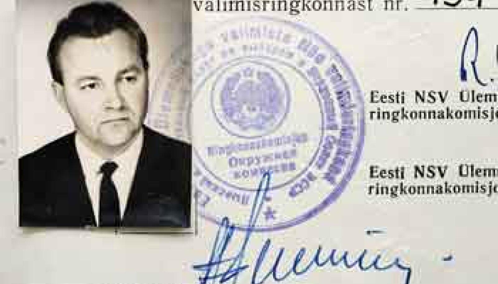 TARTU NÄIDISSOVHOOSI DIREKTOR: 39aastane Arnold Rüütel 1967. aastal.