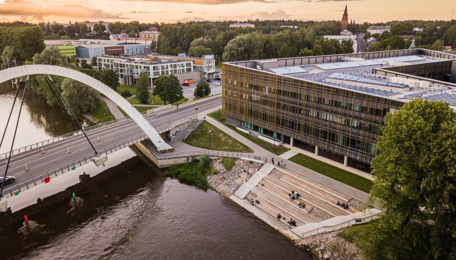 Tartu Ülikool on tänaseks jõudnud kõigis pingeridades 300-nda piirimaile