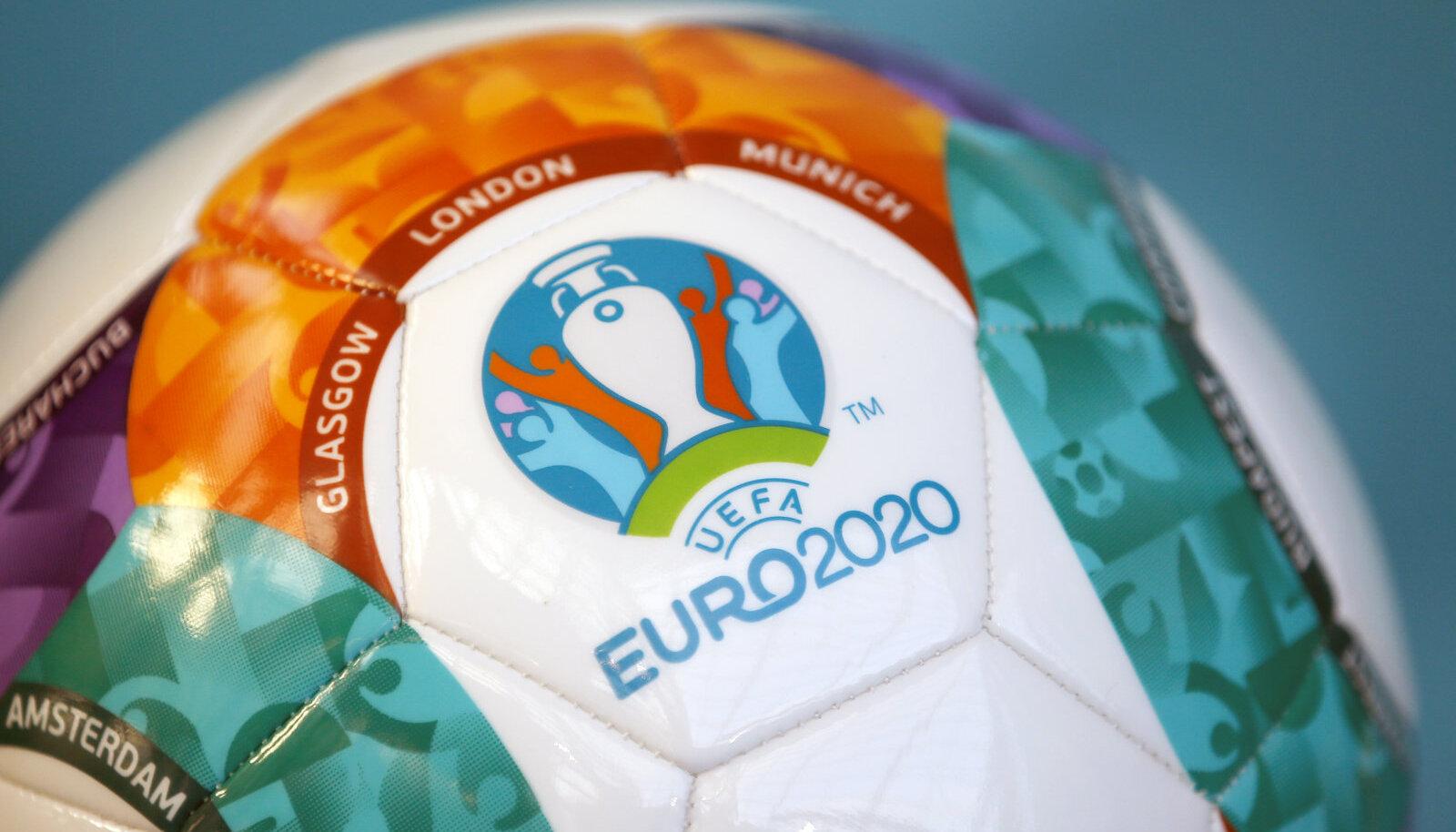 2020 EM-i ametlik pall