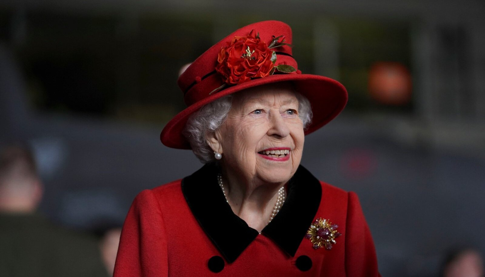 Queen Elizabeth II in Portsmouth