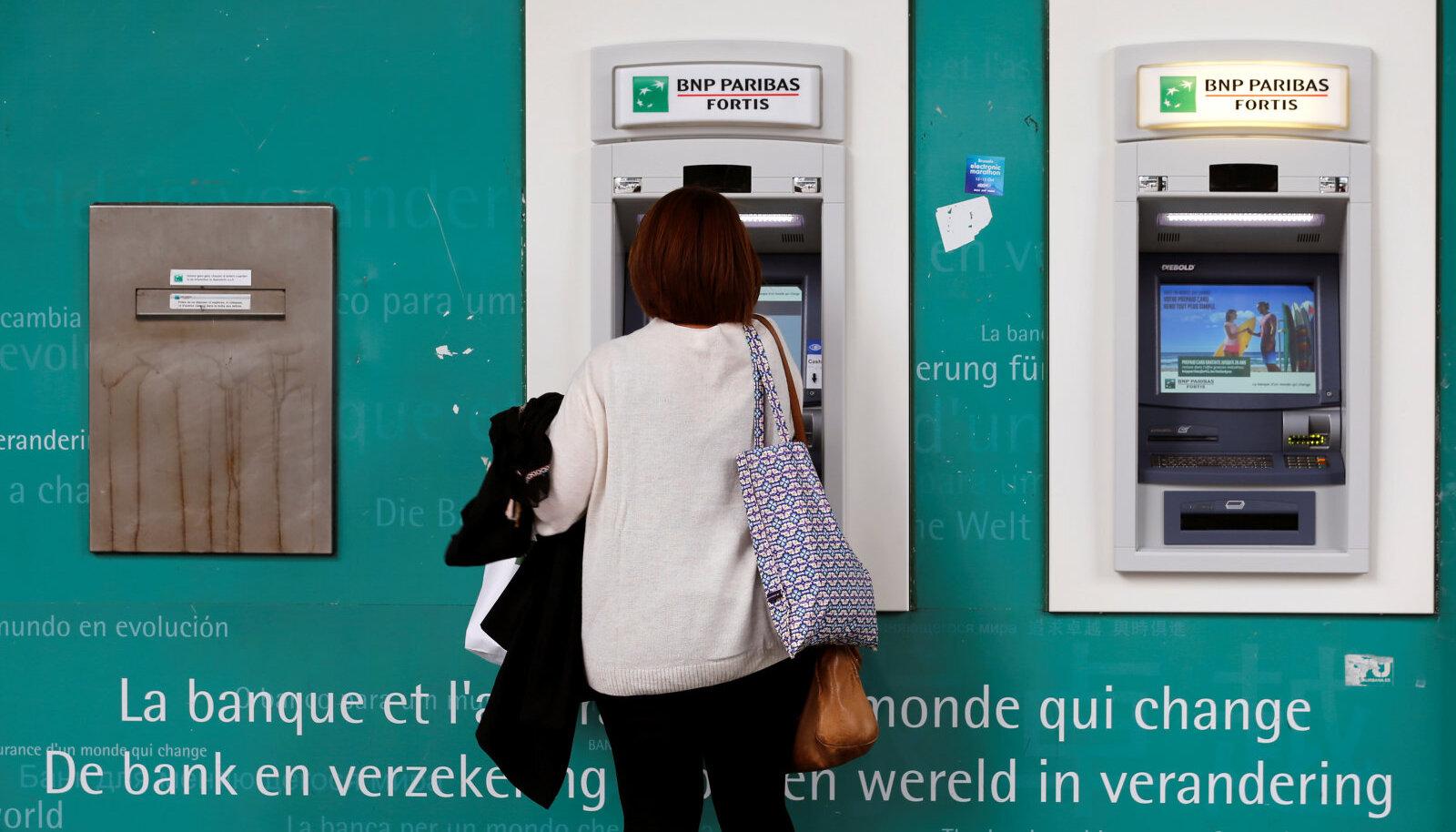 BNP Paribasi sularahaautomaadid