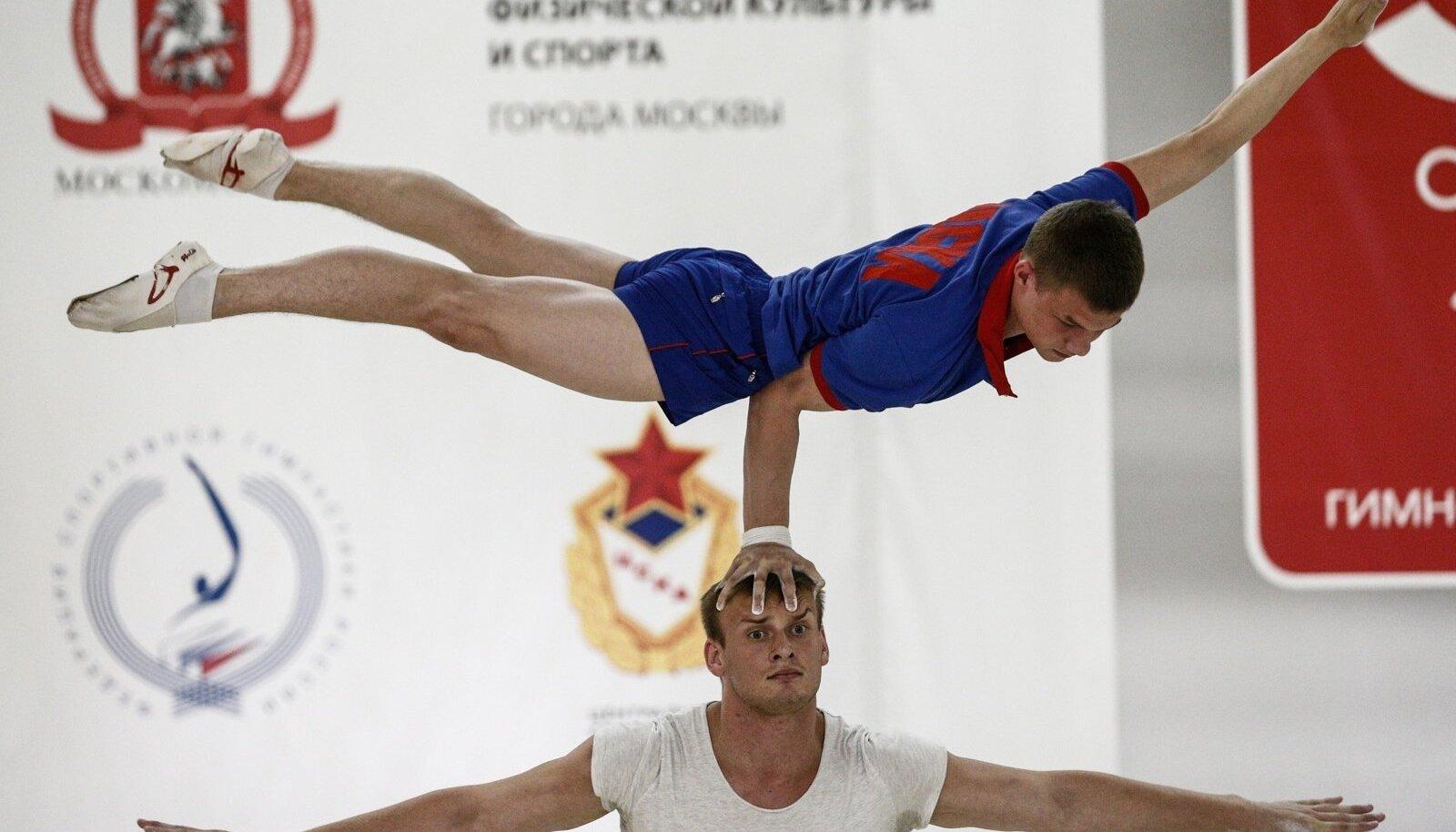 Vene sportlased trennis