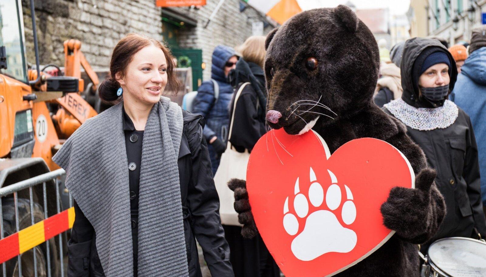 Rongkäik karusloomafarmide keelustamise toetamiseks