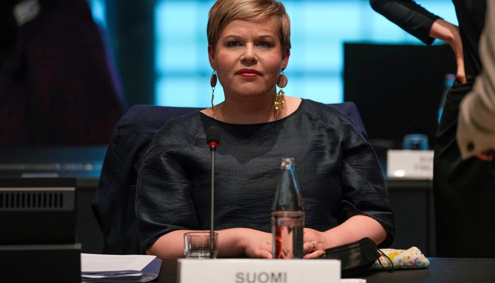 Soome rahandusminister Annika Saarikko