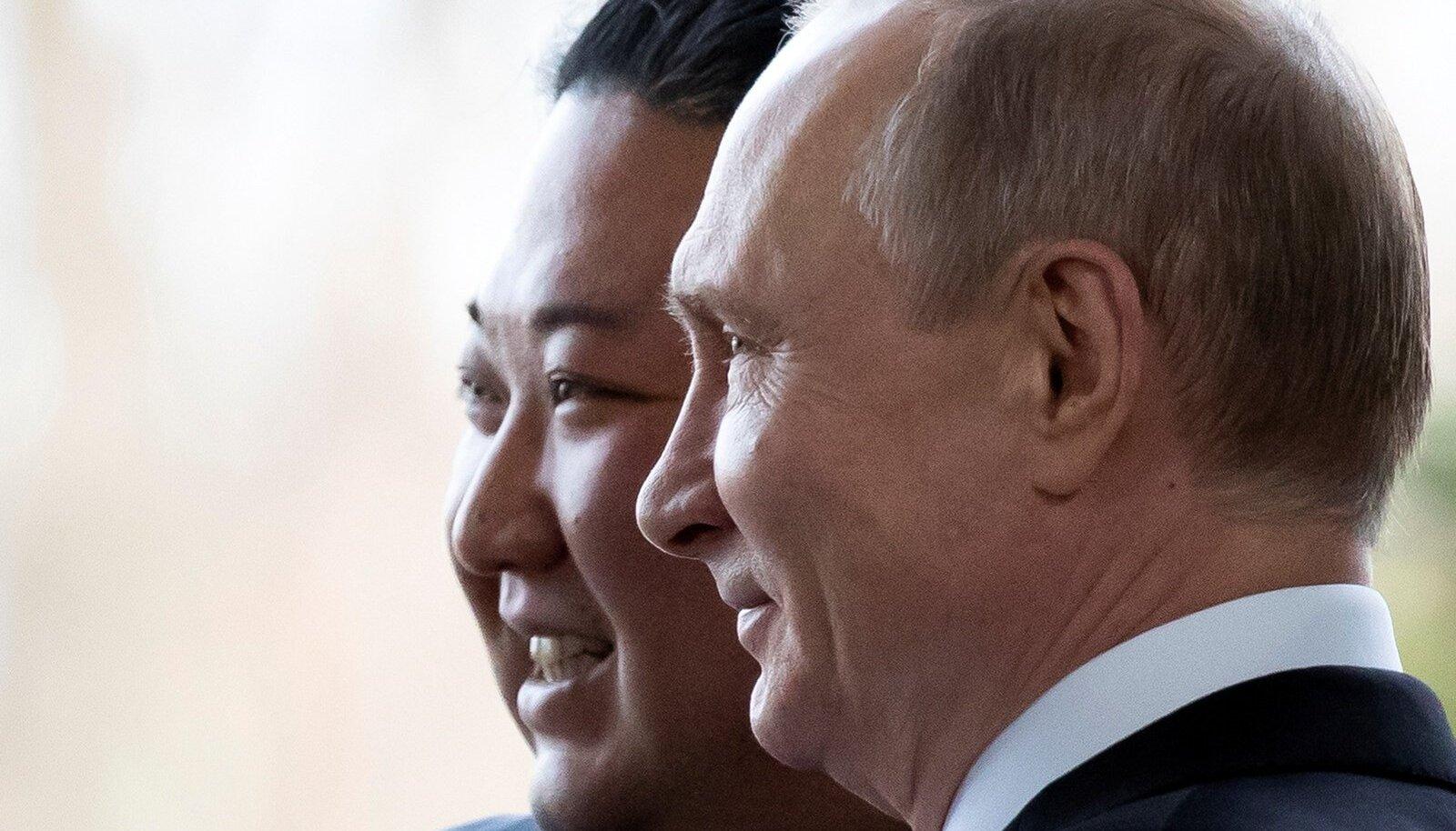 Vladimir Putin,  Kim Jong Un