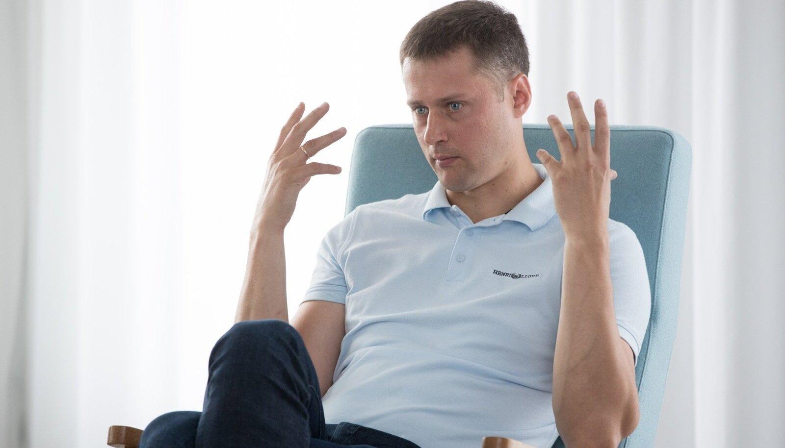 GoWorkaBit tegevjuht ja kaasasutaja Kristjan Vanaselja