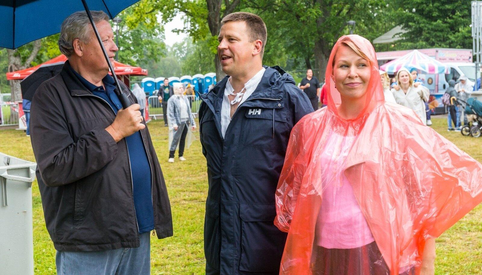 Jüri Ratas Viljandi Pärimusmuusikafestivalil