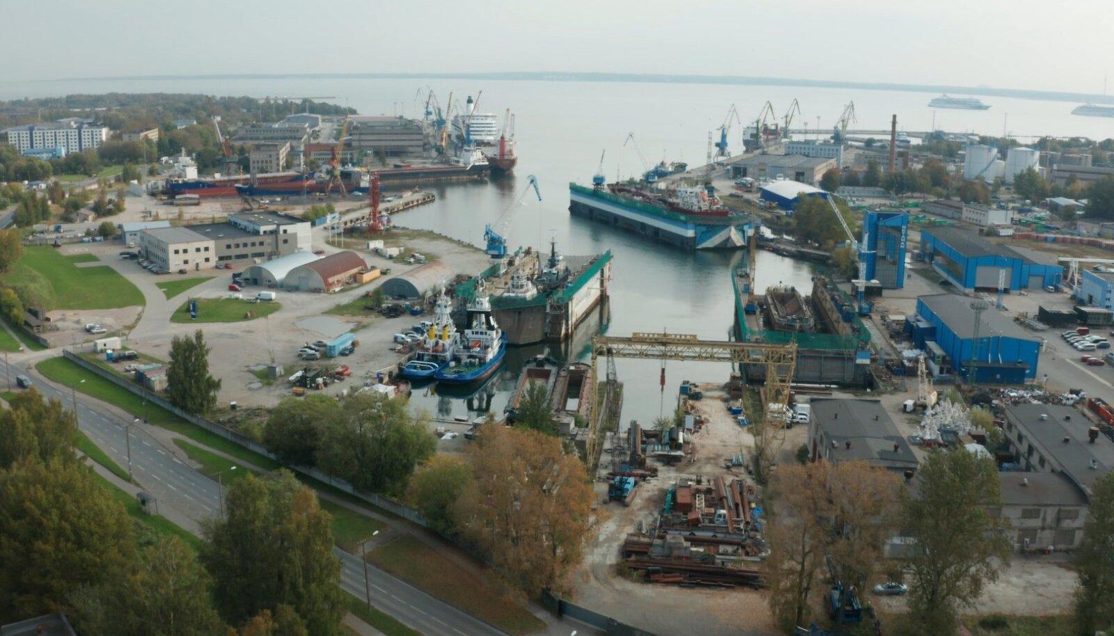 Wolfscape'i pilootprojekti asukoht Põhja-Tallinnas