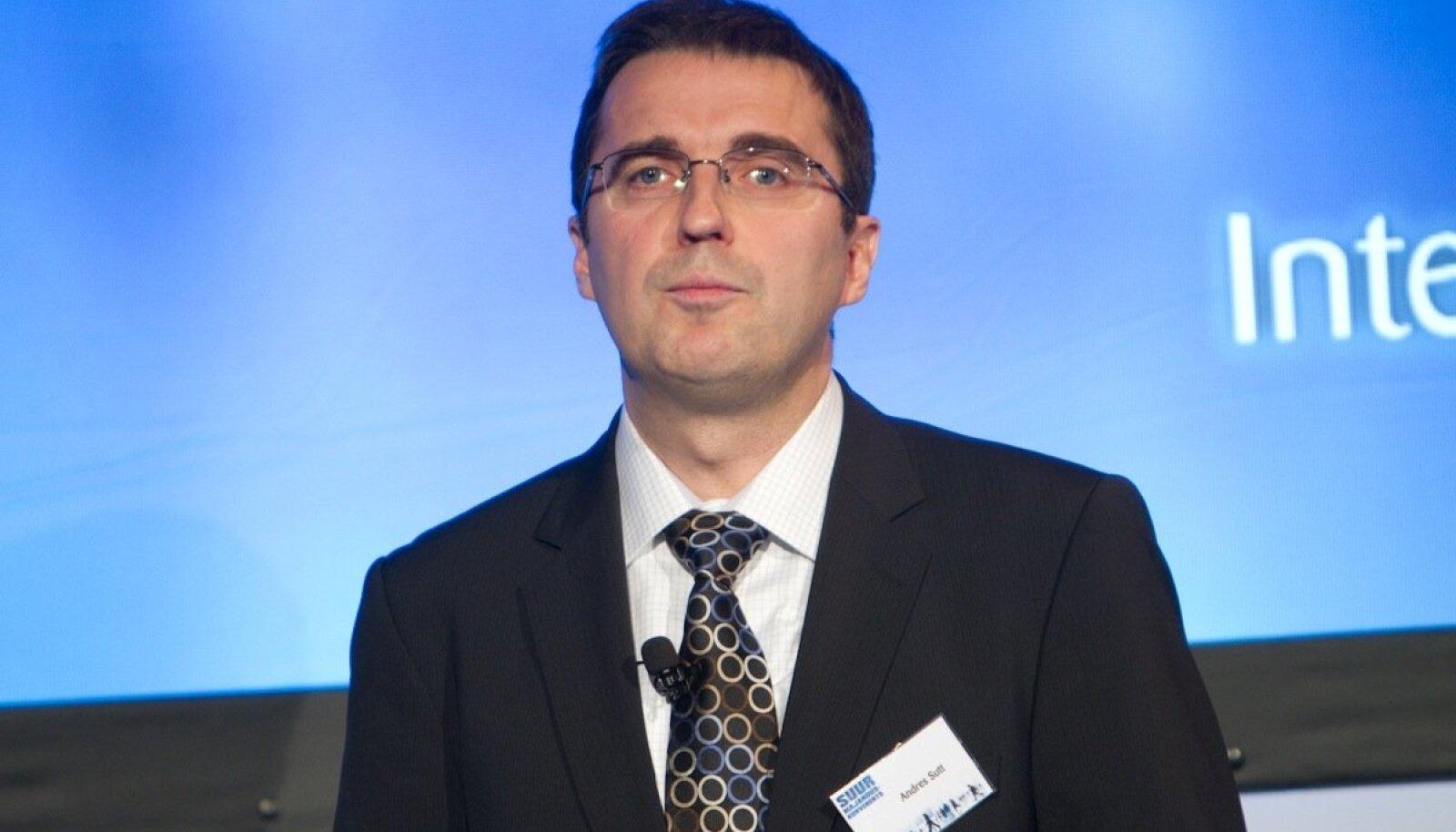 Ettevõtlus- ja infotehnoloogiaminister Andres Sutt