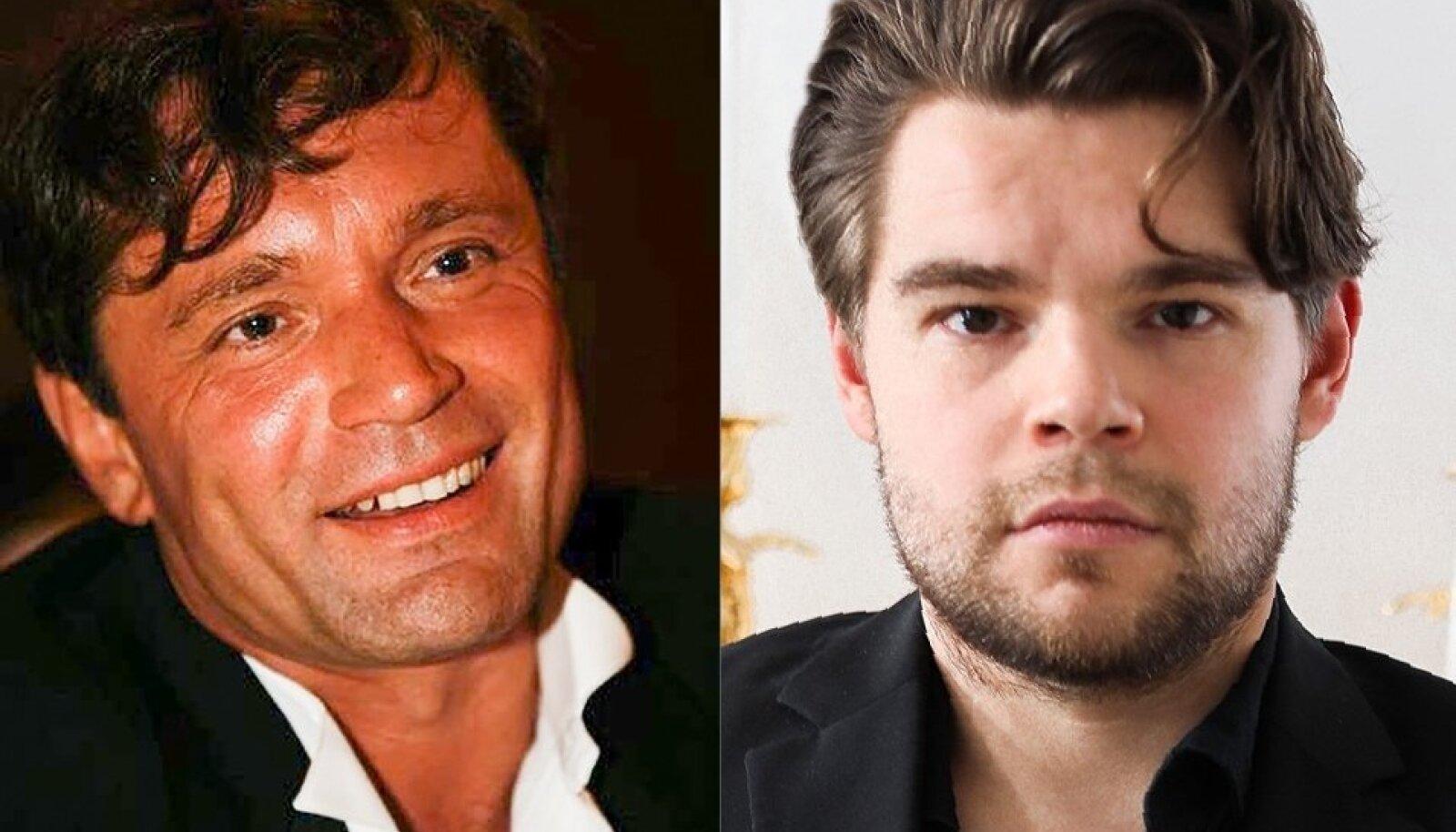 MAFFIABOSS Toomas Helin ja ta poeg Rainer Helin.