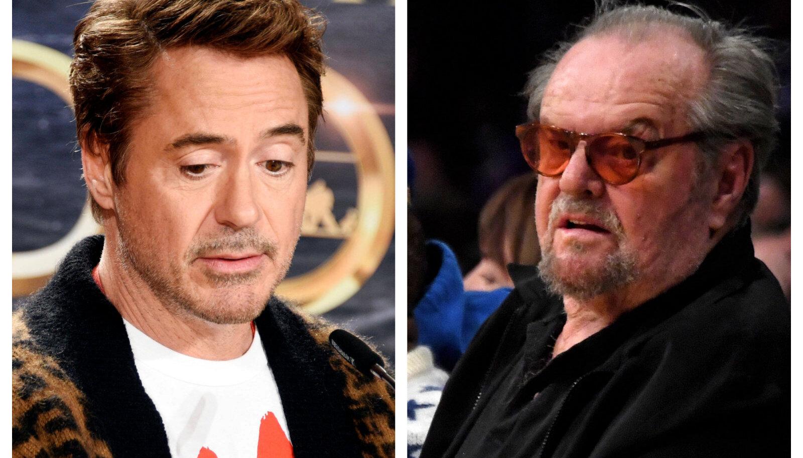 Robert Downey Jr/Jack Nicholson