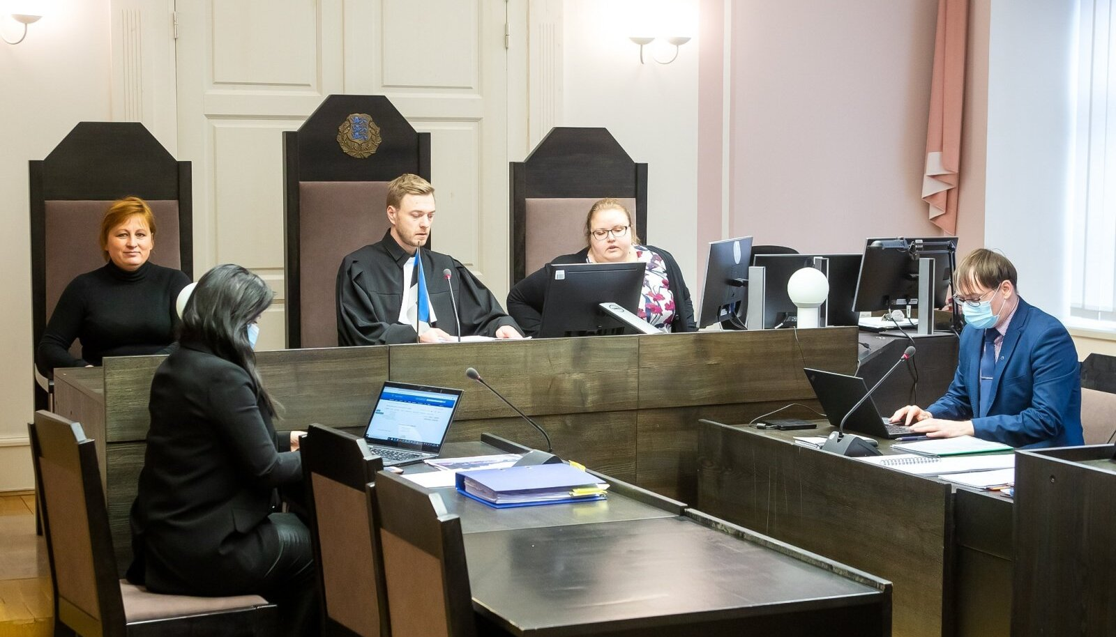 Pilt pärineb jaanuarikuisest kohtuistungist.